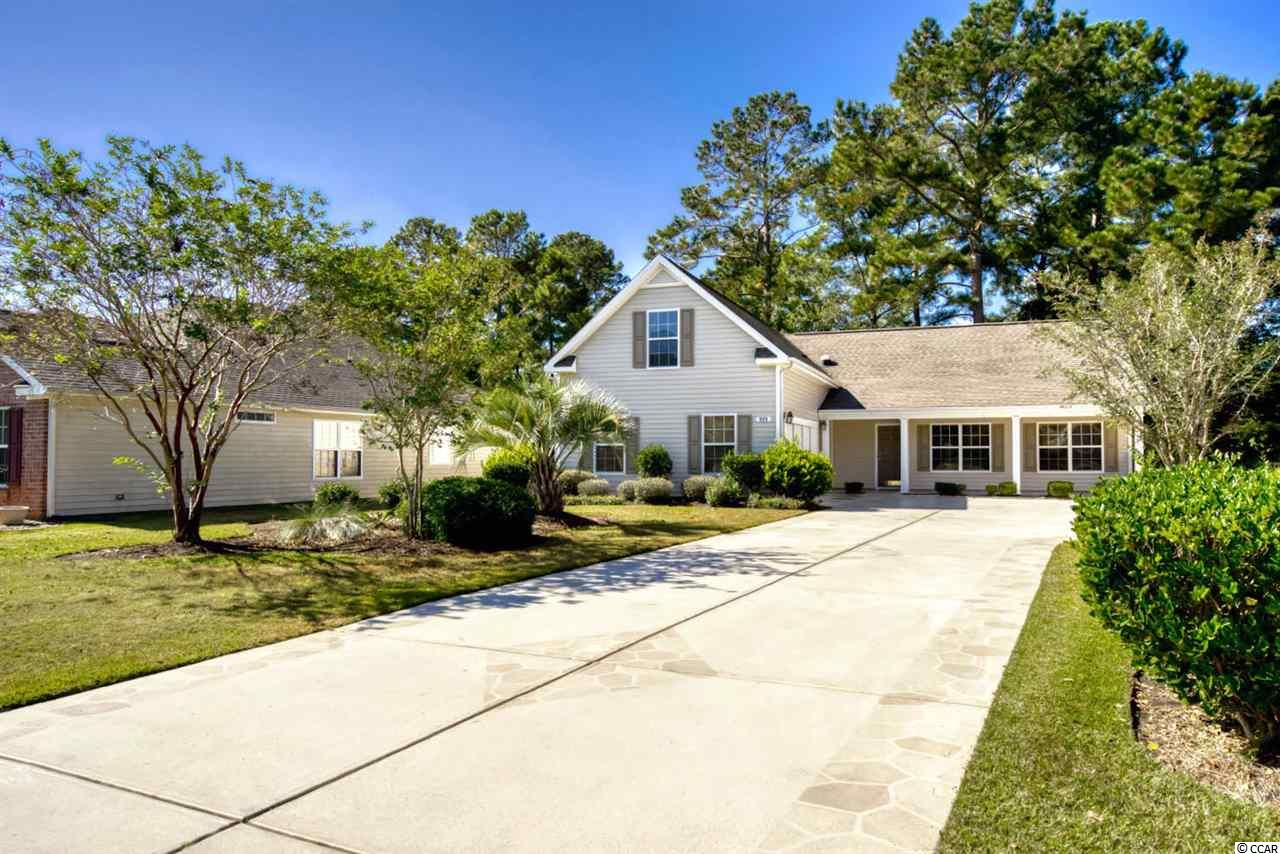 Do you like golf?  Do you love Myrtle Beach? Do you want to live here? Guess what? Now is the time and this is the home for you!  Large 4 bedroom, 3 full bathroom property located in the Lemington section of Arrowhead Golf community.  Split floor plan, formal dining area, large 4th bedroom with full bathroom above the garage.  Two car garage with a huge driveway to welcome your guest to all the fun functions you'll be entertaining on your two large back patios.  One is open for the cool breeze you'll enjoy and the other is closed for you to enjoy coffee/tea or just relaxing!  Too many great features to list!  Prime location!  Conveniently located, within minutes of the Atlantic Ocean, Coastal Grand Mall, Myrtle Beach International Airport, restaurants, and shopping!  Schedule your showing today!  All measurements are approximate and not guaranteed.  Buyer to verify.