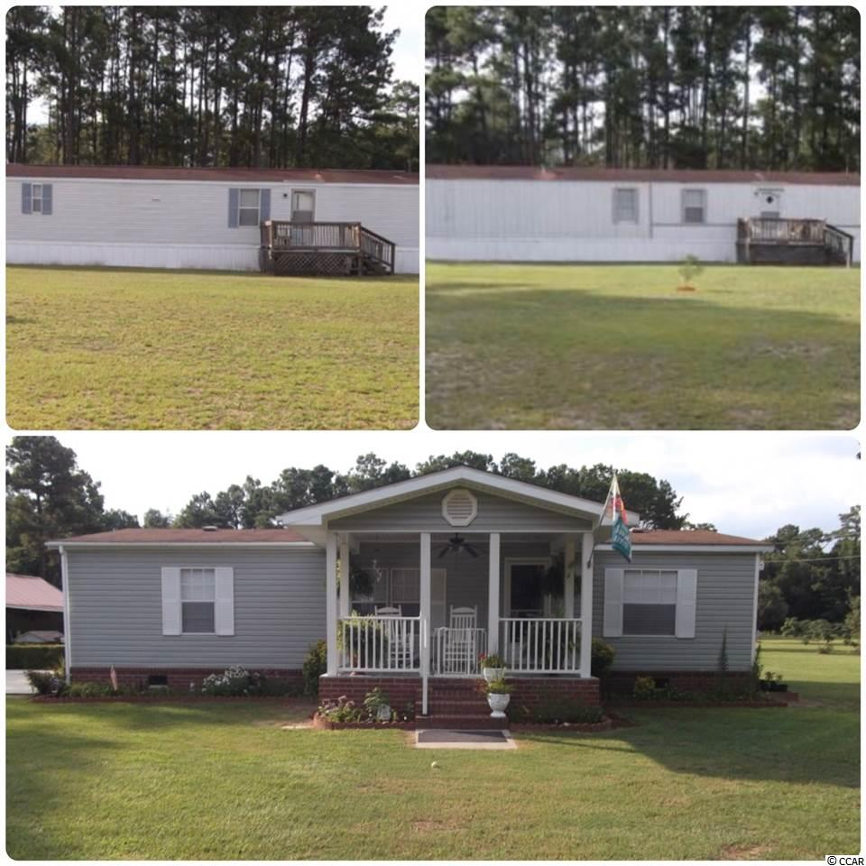 Move in Ready, enjoy sitting out on your cover front porch or covered back porch area or even enjoy the the large out door patio area under the stars in the country, well maintained 3.1 acres with a 15 x 30 work shop, enjoy fishing in private pond located at the rear of the property, great investment opportunity with 2 additional mfg homes with long term tenants in place all three properties have been survey and separated for tax purposes,