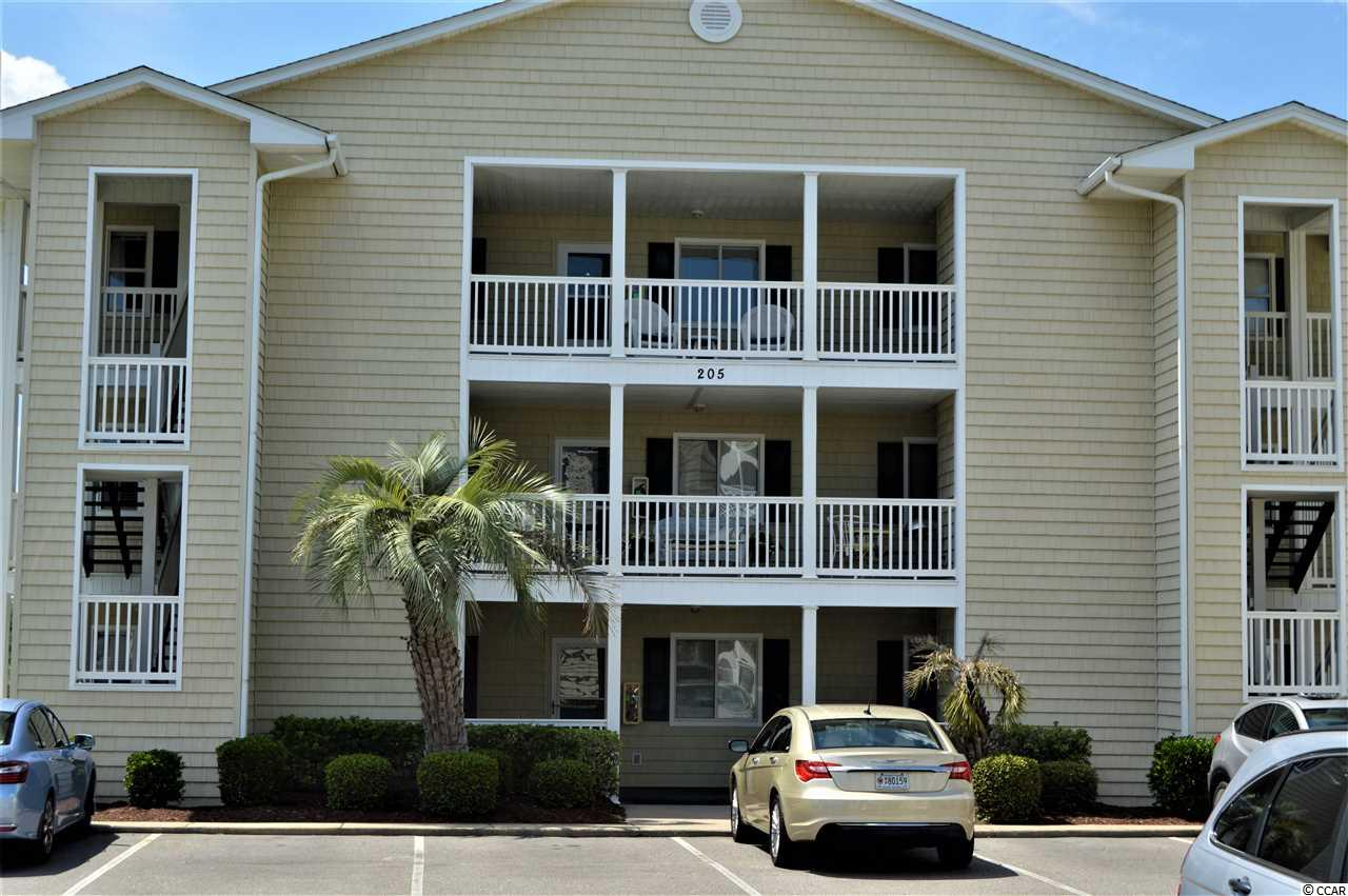 Come see this well maintained 2 bed/2 bath, top floor unit in Waterway Landing with great views of the Intracoastal Waterway, from the master and the sunroom.  This unit has many upgrades including granite countertops and laminate flooring.  The cathedral ceiling gives a spacious open feeling as the main living area flows into the kitchen, a true open concept.  The kitchen boast a pantry and a stackable washer and drier.  The master features an on suite, with a walk-in shower, and access to the sunroom.  The community has two large pools, a hot tub, community grills, permitted boat and RV parking, bike storage, and open areas for picnicking.  There are 5 private docks on the Waterway for relaxing, fishing or just enjoying the scenery.  All of this located in the heart of North Myrtle Beach and all that it has to offer.