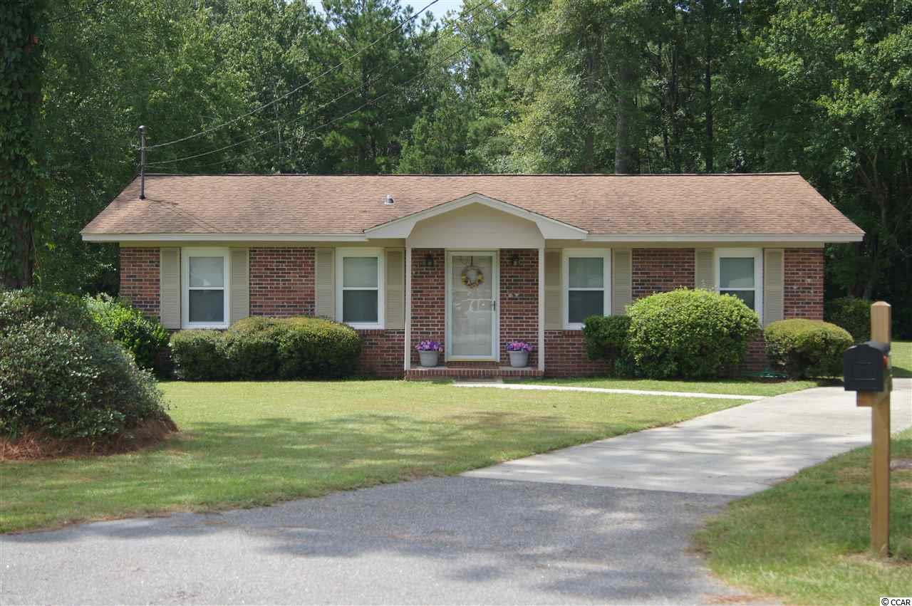 Are you looking for a cute, newly updated, ready to move in home at the end of a cul-de-sac? This beautiful brick house is located in the Maryville section of Georgetown. Downtown is only 4 miles away for great shopping and restaurants. There are several boat landings nearby, too. The exterior soffit, facia, and porch have been repainted. The whole inside of the home has also been repainted and new laminate floors were installed. The kitchen has freshly painted white cabinets and new countertops.  There is a perfect dining space off of the kitchen. A full size washer and dryer area is nestled in a convenient location.  A sectional would easily fit in the large sized open living area.  The nice size master bedroom has a private half bath. The second and third bedrooms both have a view of the expansive backyard. There is a back door off of the kitchen which leads onto a concrete patio. There is plenty of privacy and space in the backyard for whatever your needs are. This is a MUST SEE!