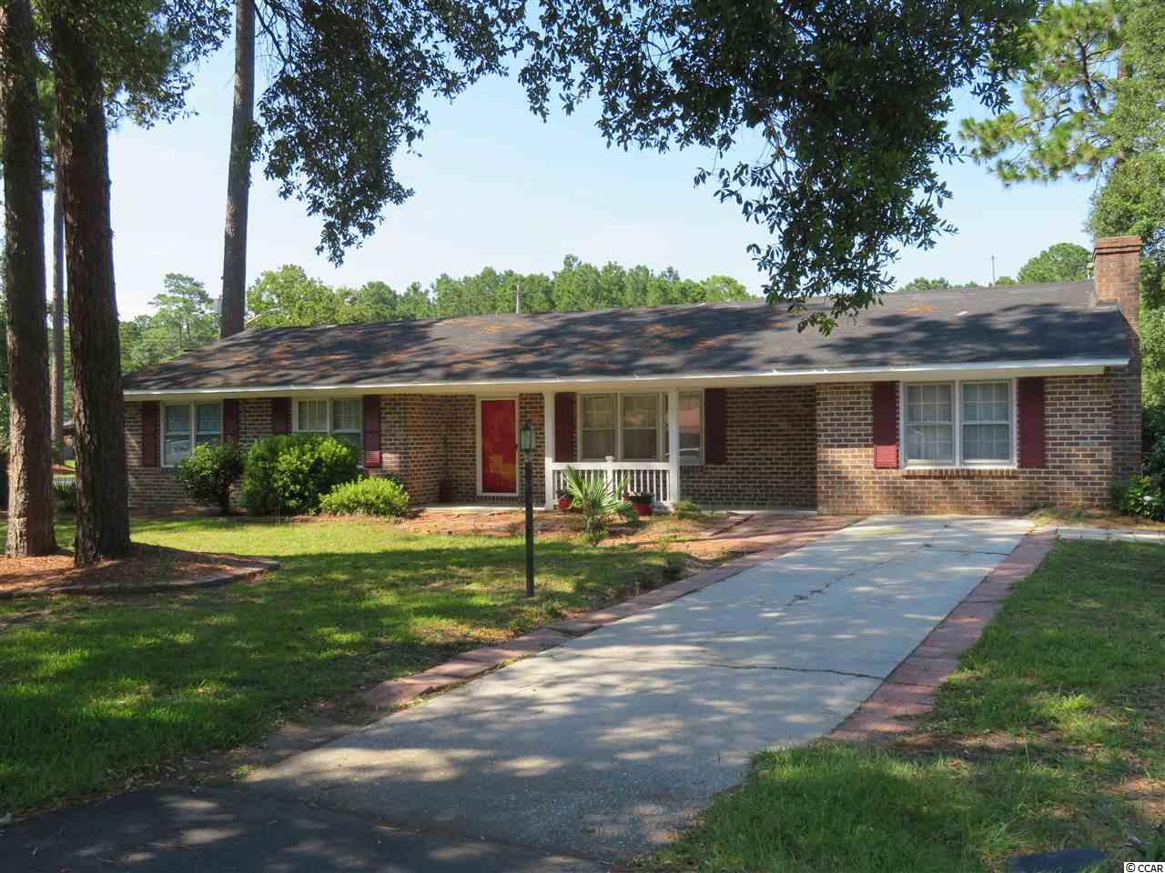 Four bedroom, two bathroom all brick home in the Maryville Pines section of Georgetown, SC. This home sits on a large corner lot with a 0.33 acre yard, mature landscaping and no HOA!  Home needs a buyer with a vision to complete the process of renovation that was started.  Schedule your showing today!  All measurements are approximate and not guaranteed.  Buyer to verify.