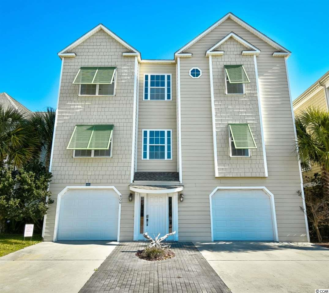 Located in the beautiful Heritage Shores community of North Myrtle Beach, this 4 bed, 4 bath is beautifully decorated & features a large open floor plan with tons of natural light! The Spacious kitchen offers granite counter tops, lots of gorgeous cabinetry & SS appliances.  The master suite is designed to be your own private getaway - a large space for relaxing, an entrance to the balcony & a large ensuite with separate shower, garden tub & his/hers sinks. A fantastic pool is on property and plenty of storage in the garage! Great for entertaining or relaxing and enjoying the views. Enjoy boating, kayaking, jet skiing, fishing, swimming, and more just outside of your own door. Public boat ramp and a nature preserve inside community.   Plenty of parking under home and in driveways. Just a quick drive or golf cart ride to the beach for the days you want your feet in the sand. Located near many local shops and restaurants or a quick drive to North Myrtle Beach's finest shopping, entertainment, and dining. Not to mention that North Myrtle Beach has been ranked as one of South Carolina's safest cities & home to the Shag and many annual festivals . Start making memories now - schedule your showing today!