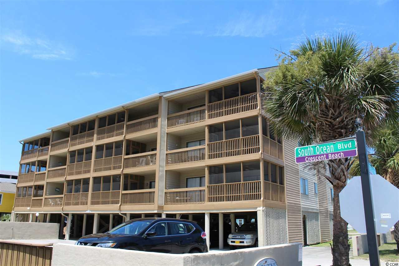 Ocean View,End Unit Condo in Crescent Tower W : North Myrtle Beach South Carolina