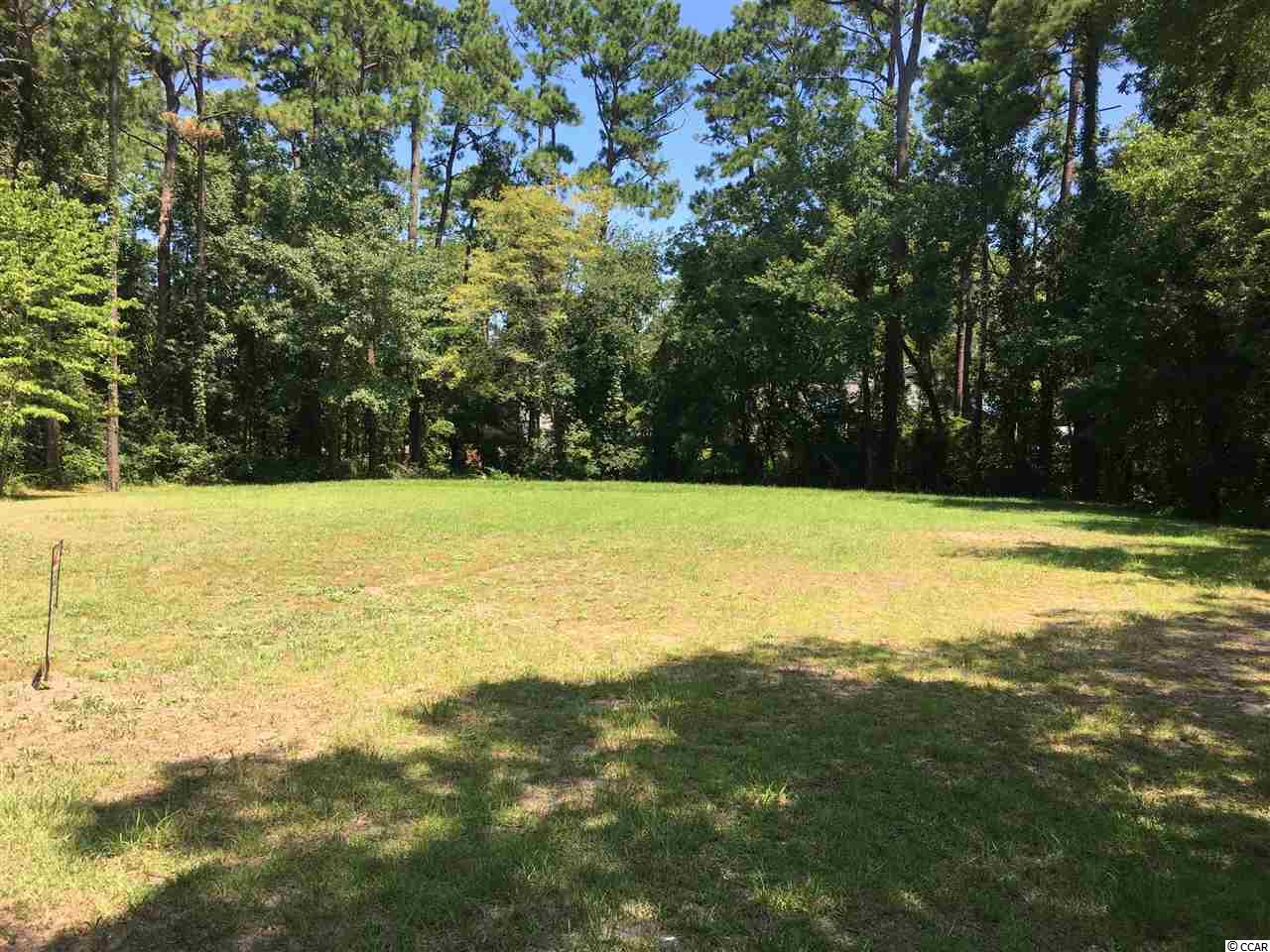 Beautiful cleared lot in a peaceful setting with NO HOA!  Located in the highly desirable Hagley Estates section of the Pawleys Island area, this property offers quick and easy access to the Waccamaw River/Intracoastal Waterway boat launch at Hagley Landing, the scenic (and quiet) Pawleys Island beaches, and the vibrant Lowcountry salt marsh ecosystem.  The land to the immediate rear is owned by the County's Environmental Protection Society, and the left side borders the 18th hole of Founders Golf Course with a wooded area in between providing a natural privacy buffer for your dream home.  Very convenient to the area's renowned shopping, dining, and entertainment opportunities, numerous top-notch golf courses, and historic Georgetown, with the Charleston area only a short hour's drive away.