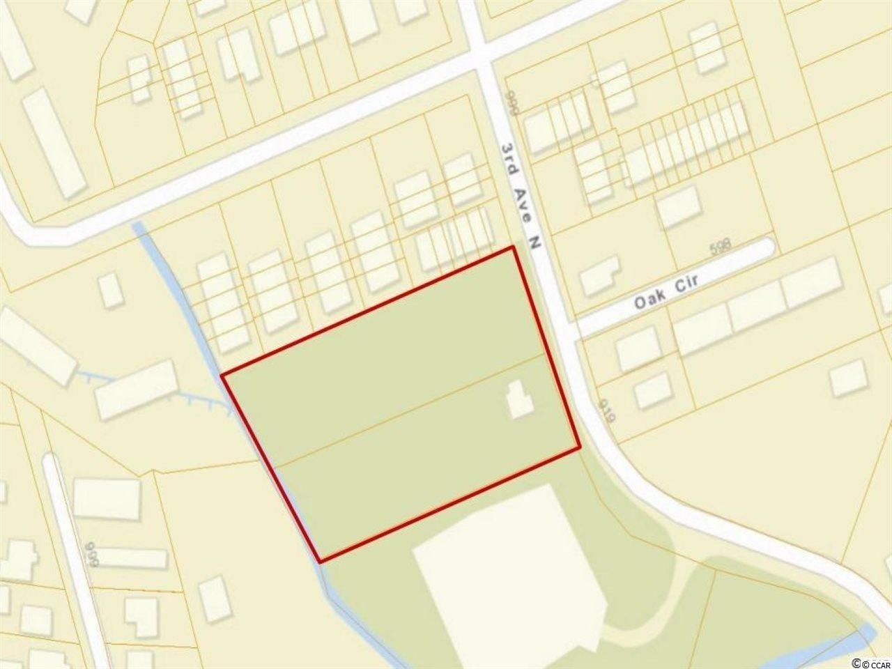 "Less than an mile to the ocean! Rare opportunity for a development! Located in the city limits of Myrtle Beach +/-2 Acre land, Zoned RMH - Multifamily-High Density, possibility to build approximately 32 Units. There is no value placed on the house and there is a renter in there on a month to month basis. Property sold ""As Is""."