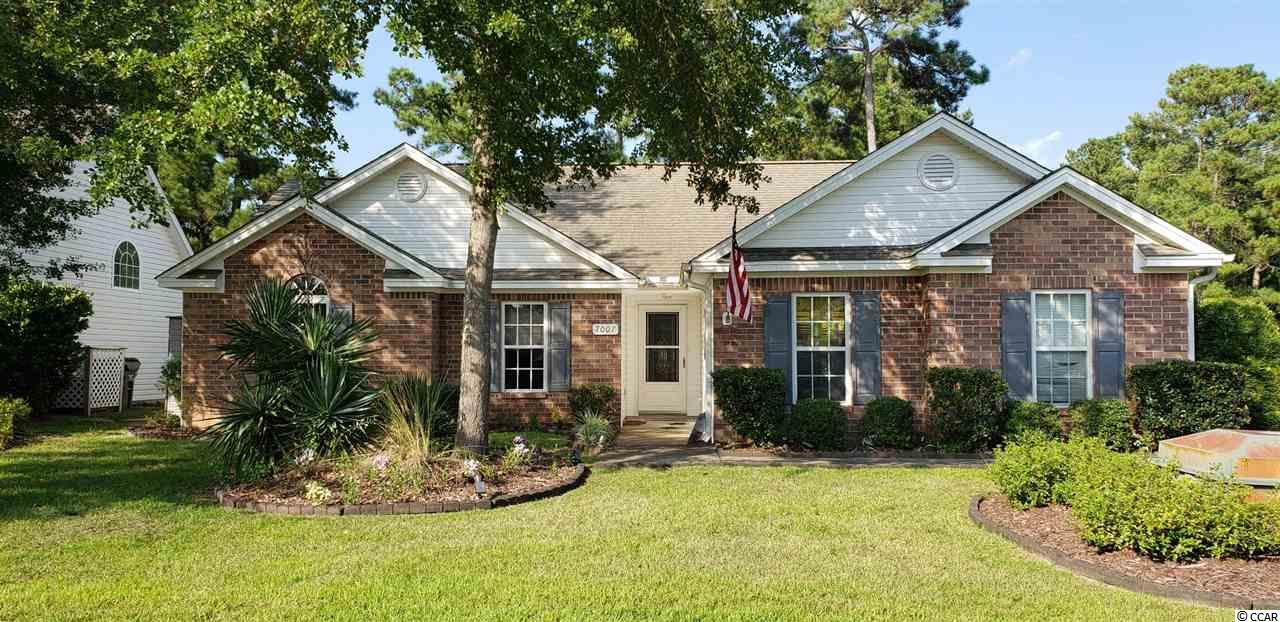 Amazing Opportunity! Large upgraded single, ground level home sets on nice corner lot in Myrtle Beach Golf & Yacht Club with large private backyard.  Home features a unique, open floor plan with a Carolina Room, Sunroom and Screened-in porch.  Upgraded kitchen and wood and tile throughout home.  Two-car garage with storage above and workbench - great feature. One of the very few homes with a fence around the back for privacy.  Low maintenance: front and side lawn are mowed by HOA so just the back yard is left to you. HOA Fee is very low and includes swimming, shuffleboard, basketball, clubhouse and picnic area. Owners have replaced appliances, heating system, hot water tank, kitchen cabinets upgraded, wood flooring, added the larger sun rooms and remodeled the other sunroom. This home has left no stone unturned and it shows. Schedule a showing today!!!