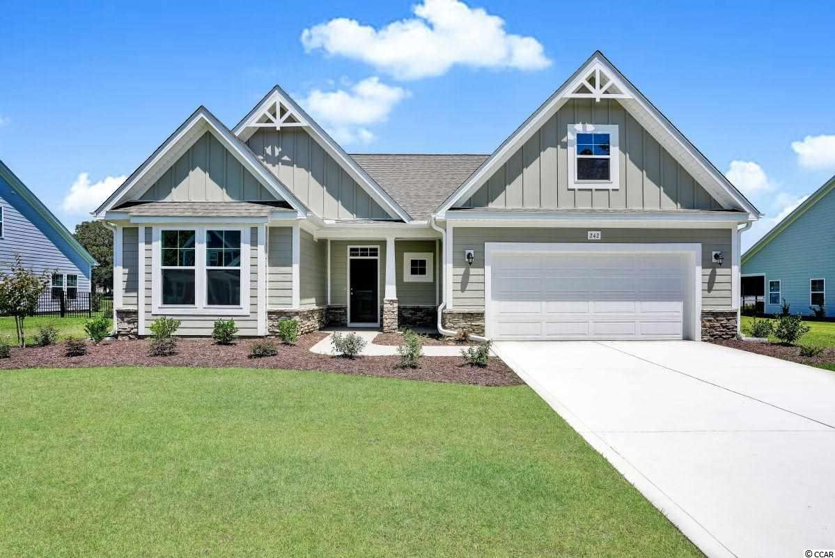 """Huge incentives extended on this home if closes by September 30th!! The Wrightsville home plan offers a large, open concept home at a great price!  This home will include 5"""" laminate flooring in the Main living areas, Tile flooring in the Baths and Laundry; an All-tile shower in the Master Bath and Level 2 Carpet in the Bedrooms.  Come check out this gorgeous Kitchen with its beautiful painted Cabinets, Level 2 Granite Countertop, Subway Tile Backsplash, and Stainless Range Dishwasher and Microwave.   Relax and enjoy the Pond view on this Large rear covered porch.  Don't forget Free Greens Fees for Life!"""