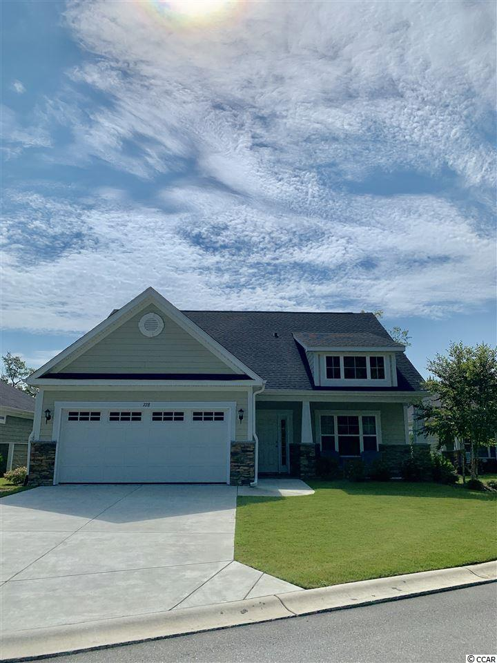 This Garden Home at StoneGate in Prince Creek offers the best in LOCATION and Maintenance FREE LIVING. This home was built new in 2017. It has 3 bedrooms, 2 baths, high ceilings and a wonderful open floor plan that looks out onto a gorgeous lake view. It has a covered patio that has been enclosed for year round use. It offers granite in the kitchen and bathrooms, stainless steel appliances, large tile in all wet areas, carpet in Bedrooms, and laminate hardwood floors in living area. The master bath has a walk in shower and large garden tub. The master bedroom has trey ceilings and a large walk in master closet.  This home has Natural gas, hardy cement fiberboard exterior, stone exterior accents, attached 2 car garage, and is low maintenance living at its best. It boasts a beautiful clubhouse with outdoor pool, fitness room, pool table, living room and kitchen for large gatherings. This Garden Home at StoneGate is located in Prince Creek and is close to dining, shopping, the Marsh Walk, the Beach and everything in between. This is a desirable Seabrook Model on a gorgeous large lake view lot that the HOA maintains for you. Don't let this opportunity slip away. Come home to Stonegate today.