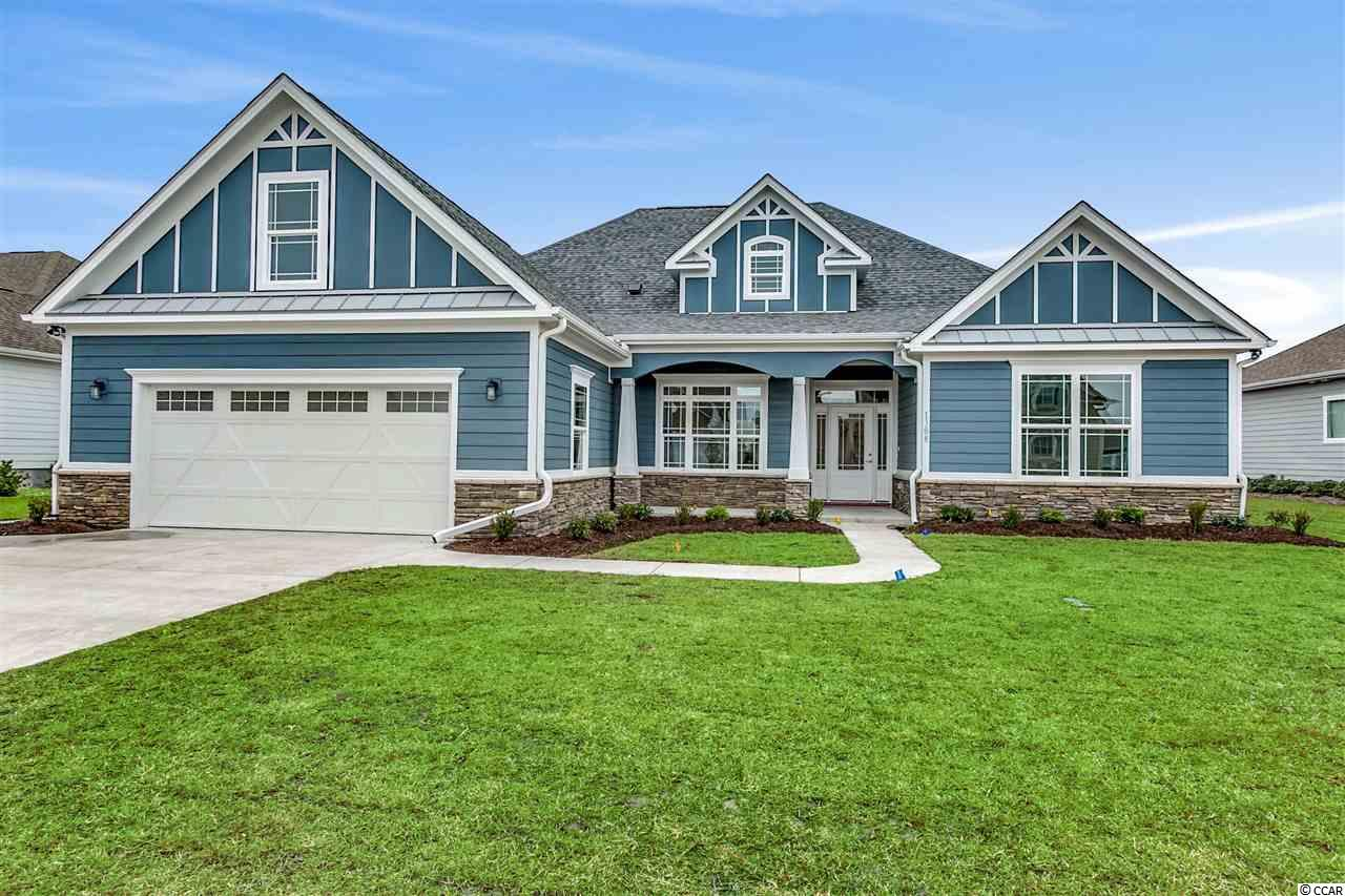 NEW 5BR/4BA CUSTOM HOME CONSTRUCTION IN RIVER HILLS!! Want to be close to the Intracoastal Waterway and near the ocean? No worries! River Hills is a well established golf course community located in Little River, SC across the street from the largest main basin in our area (Myrtle Beach Yacht Club) and only a 5 minute drive to the ocean! Do you desire to be close to restaurants and shopping? River Hills is conveniently located and only a short drive to the Coastal North Shopping center featuring a host of restaurants and shopping including  Publix, Dick's Sporting Goods, TJ Maxx, Pet Smart, Chipotle, Panera Bread, Mission BBQ, Hickory Tavern and many more shops and restaurants!   This new craftsman style 5 bedroom 4 bath quality built custom home is soon to start construction and will be ready for its proud new owner by February 2020! This beauty will have all the bells and whistles to enjoy an exceptional lifestyle at the beach. Custom features of this home include 12' ceilings in the foyer, great room, dining room, kitchen and breakfast area with customized coffered ceilings in the great room and double tray rope lighted ceilings in the dining room and master bedroom. Porcelain tile floors throughout this remarkable home with a crown molding package that is second to none! The arched cased openings, bull nose corners, upgraded 7 1/4 baseboard, deluxe 5 1/4 crown molding, well appointed wainscoting and custom window trim throughout this open and airy 5BR/4BA floor plan will simply amaze you!Custom cabinetry and granite counter tops in the kitchen, master bathroom, guest bathrooms and the laundry room.  All closets are custom designed with upgraded wood shelving. The covered rear veranda extends the full length of the home with travertine flooring, 2 ceiling fans, 10 recessed lights and an outdoor TV set up that is perfect for entertaining! Home will have a finished 2 car garage and is perfectly situated on a premier golf course homesite overlooking a beautiful Par 3. Don't delay! Call today!