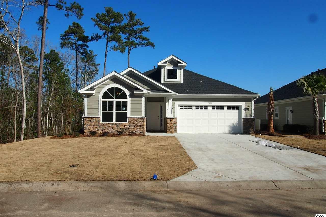 One of the most beautiful and spacious 3-bedroom, 2-bath homes in Prince Creek! In addition to maintenance-free living, this one level, open floor plan features spacious extended rooms, soaring ceilings, neutral palate and relaxed living space. This popular 'Pawleys' Floor Plan with added screened porch has well-appointed finishes such as hardwood flooring system, ceramic tile, granite countertops and state-of-the-art stainless appliances. Conveniently located to major roads, shopping, hospitals and medical offices...plus a short drive to Huntington Beach State Park, area restaurants and local attractions.