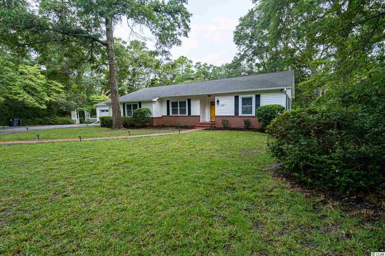 *** OPEN HOUSE THIS FRIDAY AUGUST 23rd 11-2, SATURDAY AUGUST 24th 1-4 AND SUNDAY AUGUST 25th 12-3!!! **** Such a rare opportunity to find a completely remodeled home in the coveted Briarcliffe Acres community!  There is a combination of original charm and character with its refinished hardwood floors and built-ins, as well as modern conveniences and finishes throughout. From granite counters in the kitchen, baths and laundry, maple soft-close cabinets, under cabinet lighting, stainless steel appliances to bluetooth bathroom speakers and USB outlets in the kitchen and Master BR, this home is ready for today's lifestyle.  There is unbelievable storage throughout in linen closets, a large coat closet, multiple closets in the bedrooms including a massive walk-in closet in the Master BR with a gorgeous, soft-close barn door.  Also tons of cabinet space in the kitchen and laundry/pantry/drop zone area. The home offers many options of flex-space with 4th bedroom/office potential and an expansive Carolina Room that can offer main or breakfast-type dining, additional living room, play or hobby room etc, the opening is framed for french doors if you would like to close it off. With a massive deck and near acre-sized, cul-de-sac lot, this is a true gem for the Grand Strand area.  To top off this irresistible home, you are only a short golf cart ride to your private cabana and mile of secluded beach.  Cabana offers wi-fi, picnic tables, showers and private parking.  Briarcliffe Acres is centered near all the greatest attractions including Barefoot Landing, Tanger Outlets, Restaurant Row and nestled perfectly between North Myrtle and Myrtle Beach.