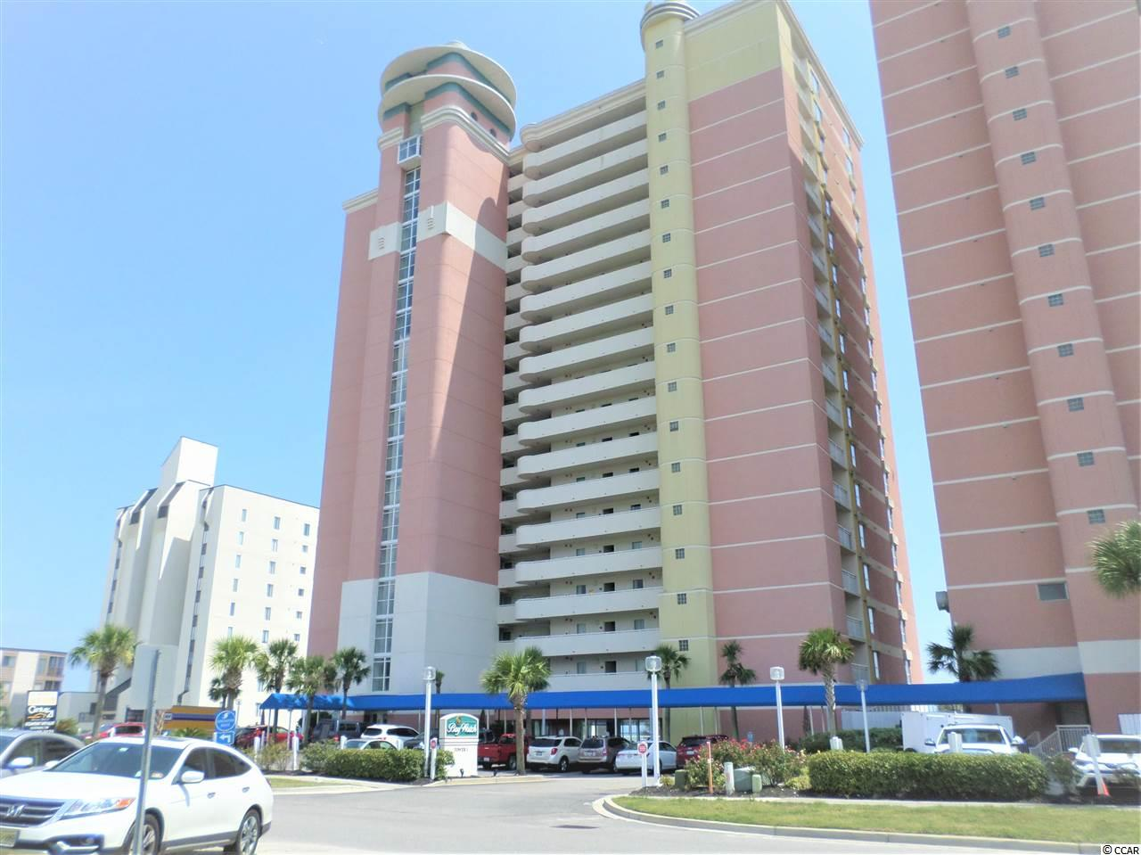 This is very well kept and upgraded penthouse unit with new carpet in bedroom and tile in living room. Turn key condition. Fantastic views of the ocean. Baywatch Resort features lazy rivers, restaurant, several pools. Great family vacation place close to shopping and restaurants.