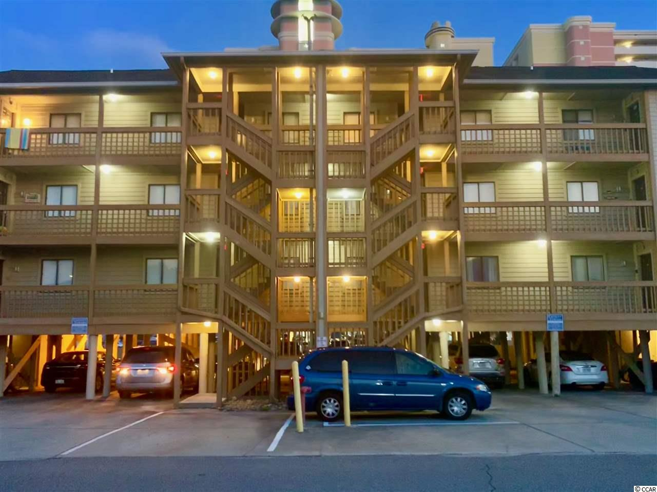 This is a rare opportunity to purchase this spacious 3 bedroom 2 bath condo with Gorgeous ocean views, in family friendly North Myrtle Beach . These Condos rarely come up for sale in this well maintained 12 unit building.  Enjoy all the sights and sounds of the ocean from the large balcony which has  access from the living room and the master bedroom.  There is a nice storage room under the building to store all of your beach gear. Relax while using one of the 2 pools, one is in front of the building and the other is located across the street, on the beach, at Crescent Towers I. This unit is being sold completely furnished, so its turnkey and ready for your next beach vacation!  Great rental income potential!