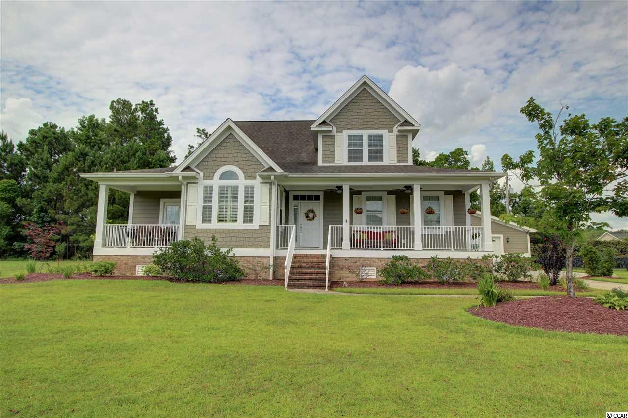 Located just 6 miles from downtown Conway and 20 miles to Myrtle Beach, this 3100+ heated sqft home in the gated Pottery Landing community is the perfect place to call home. Situated on half an acre, there's amazing space inside and out. With 4 bedrooms, 2.5 bathrooms, formal dining room, plus an eat in kitchen, there's room for everyone. The master is on the main floor with the remaining bedrooms and a full bath upstairs. There's also a fantastic flex space that has an attached office plus two storage closets on the second floor. This could easily be a 4th bedroom if needed, but is also a perfect media room or workout room. Outside, you can enjoy multiple porches and the spacious yard that has a multitude of blooming perennials. The 2 car garage is what you expect, but the extra that you don't want to miss is the 32 x 34 workshop and garage space. It's heated and cooled with a Daikin mini split system, so you can work or hang out with friends in comfort. The community has a private boat landing for the Waccamaw River plus a pool and clubhouse. There was no flooding or damage to this home from Hurricane Florence. As of 10/25/18 there are new HVAC units for upstairs and downstairs. This home is MOVE IN READY!