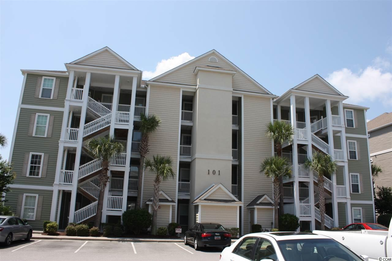 Lake/Pond View,End Unit Condo in The Village at Queens Harbour : Myrtle Beach South Carolina