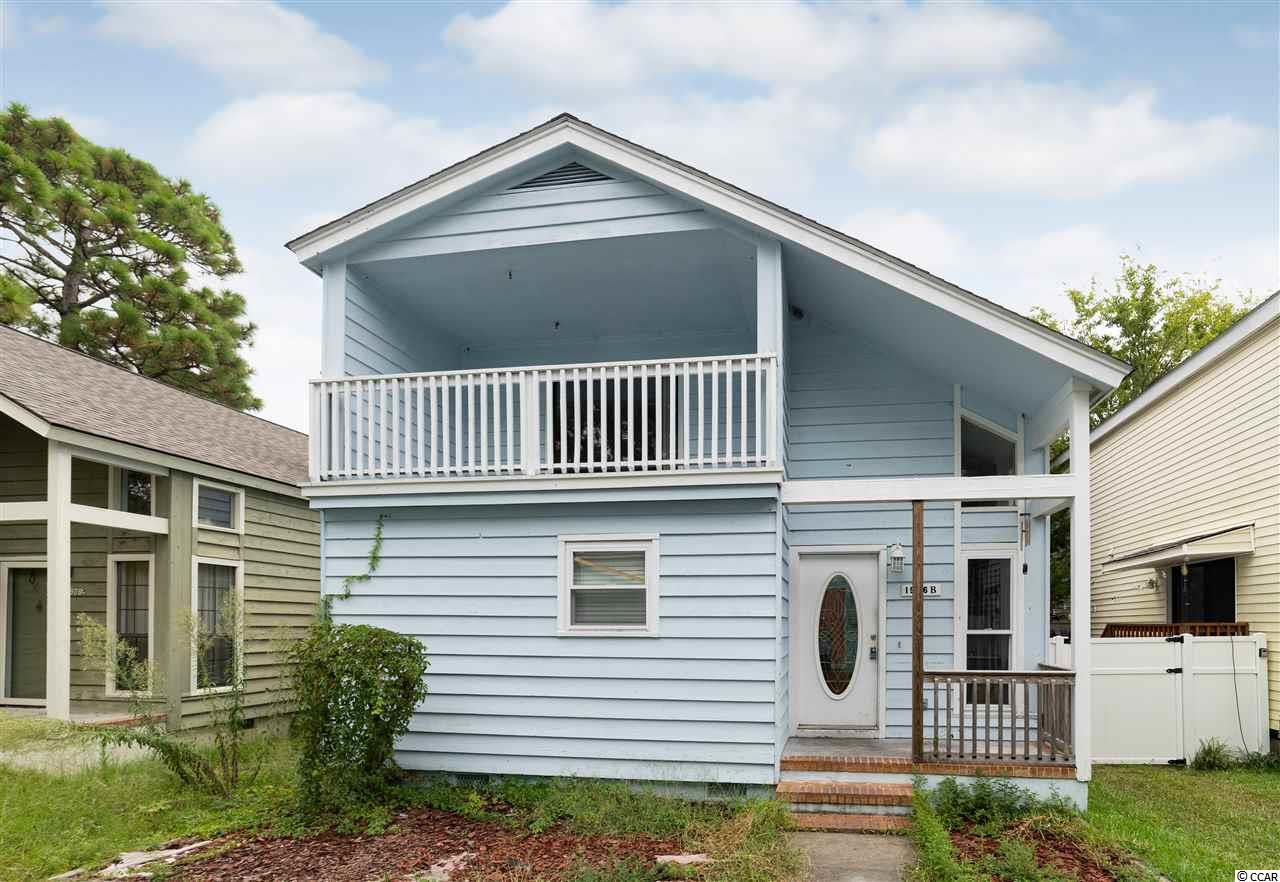 Great opportunity to own a 3 bedroom 2 bath home in the Crescent Beach section of North Myrtle Beach. No HOA and just blocks from the ocean. Open floor plan with master suite on the 1st floor. Brick fireplace. 2 additional bedrooms and a bath upstairs. 2nd bedroom has a balcony.