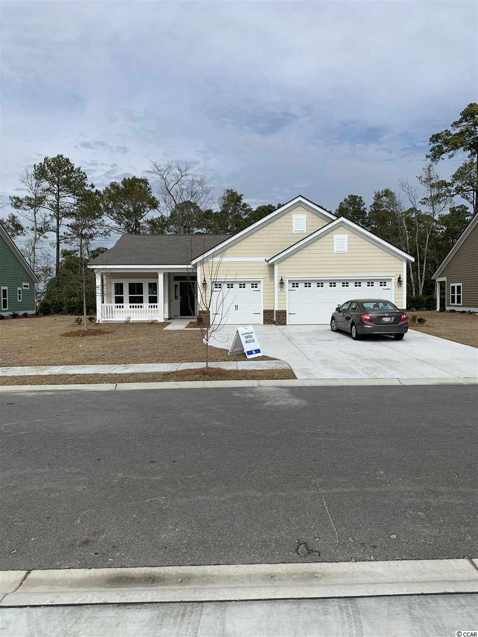 In partnership with Amazon, We are the first and only WiFi Certified Home Builder. Our Muirwood plan offers a 3 car garage, single story open floor plan.  This home features, Hardiplank siding, granite counter tops, staggered kitchen cabinets, stainless steel appliances, tile backsplash, Mohawk Cedar View Laminate Flooring, rannai tankless water heater. Seabrook Plantation in North Myrtle Beach is a Natural Gas Community.  Seabrook Plantation located a mile from the beach.  Enjoy a golf car ride to the beach, shopping and to Main Street.  **Photos are of similar home in another community. Buyer responsible for verification of all measurements.**