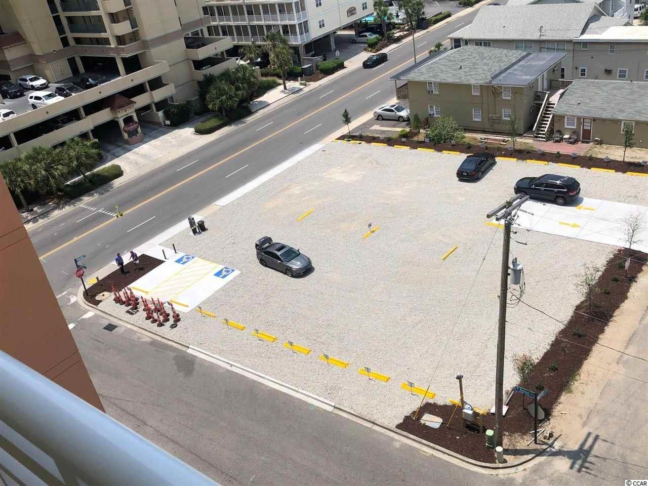 Rare opportunity to purchase a paid  parking Lot  with 30 Parking spots in North Myrtle Beach across from the Wyndham.