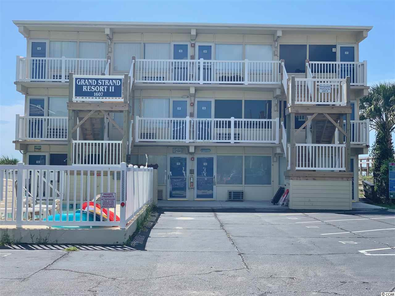 Looking for a deal on the oceanfront? You must see this direct oceanfront unit located in the crescent beach section of North Myrtle Beach. Location, Location, Location! Close to main street, barefoot landing, restaurants, shopping, and all the beach has to offer. Perfect opportunity for an investor or weekend getaway, schedule your showing today!