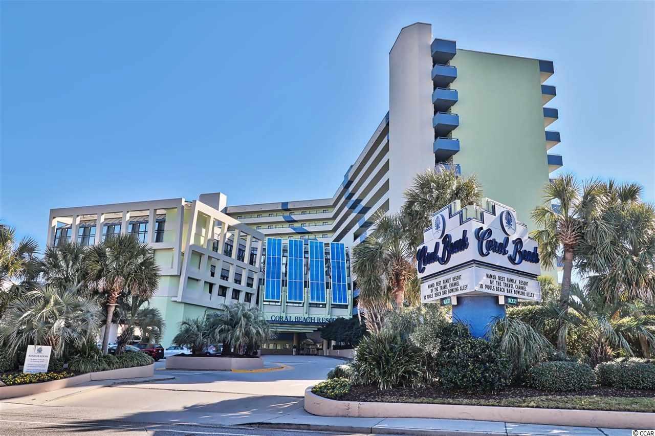 Ocean Front Condo in Coral Beach : Myrtle Beach South Carolina