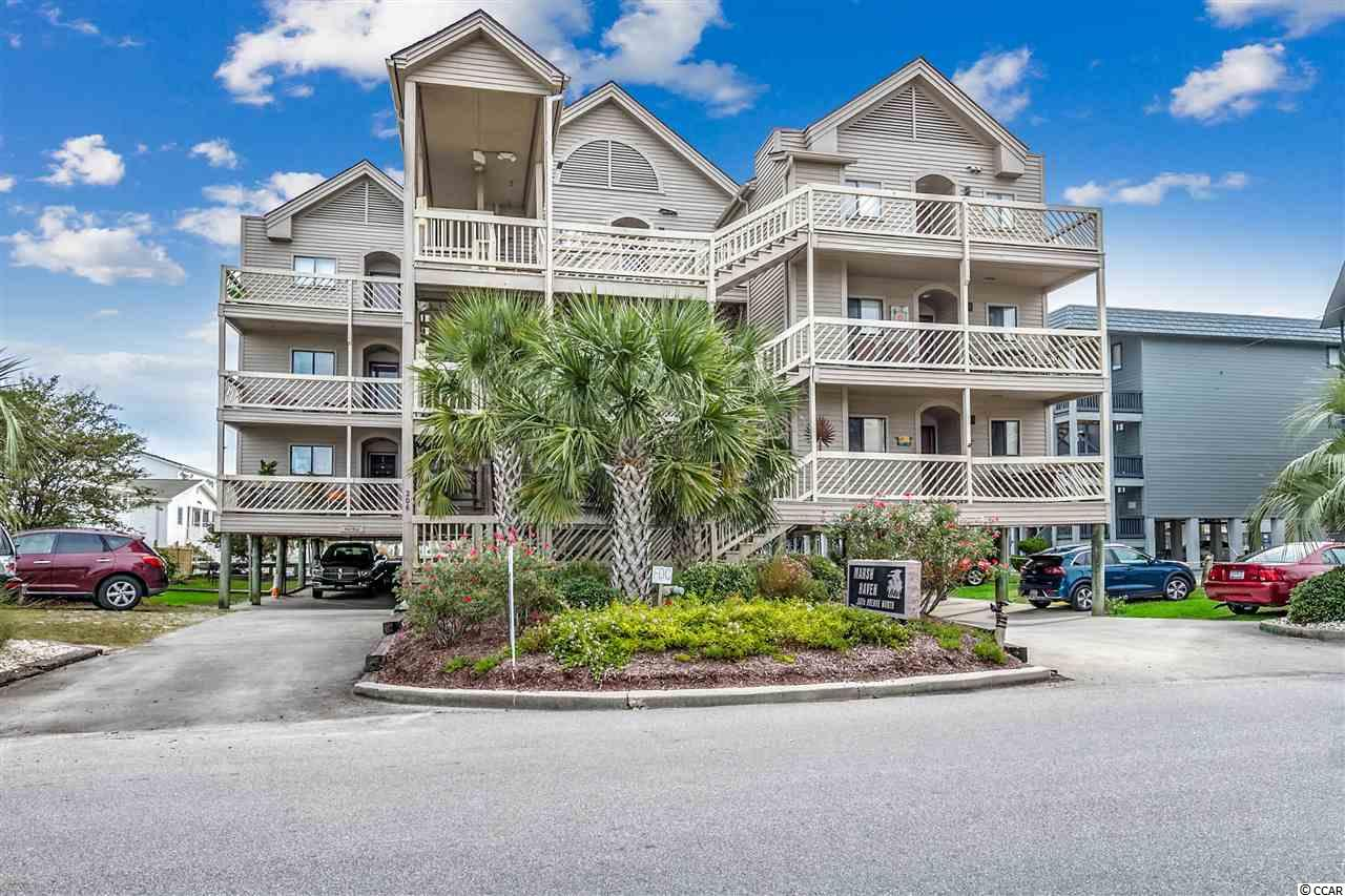 Channel View,End Unit Condo in Marsh Haven : North Myrtle Beach South Carolina