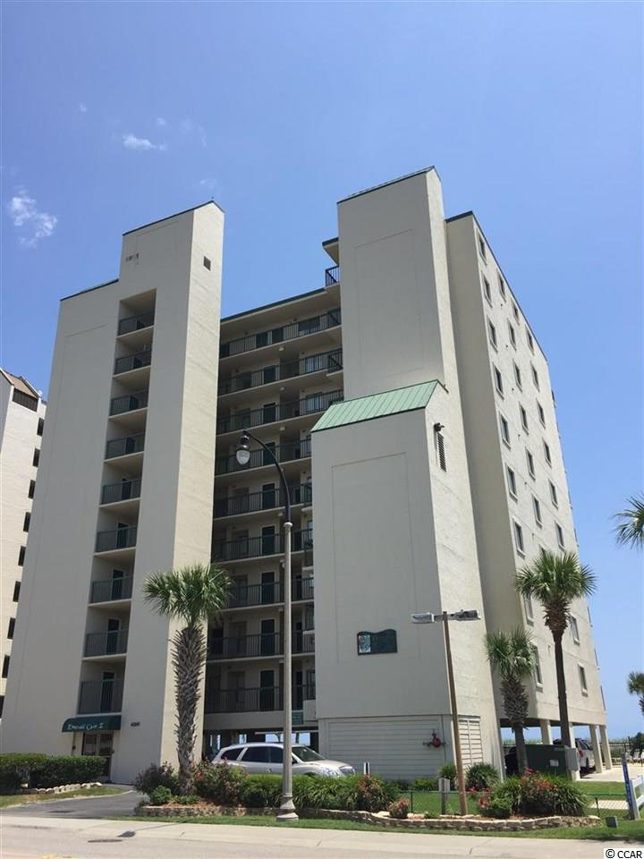Ocean Front,End Unit Condo in Emerald Cove I : North Myrtle Beach South Carolina