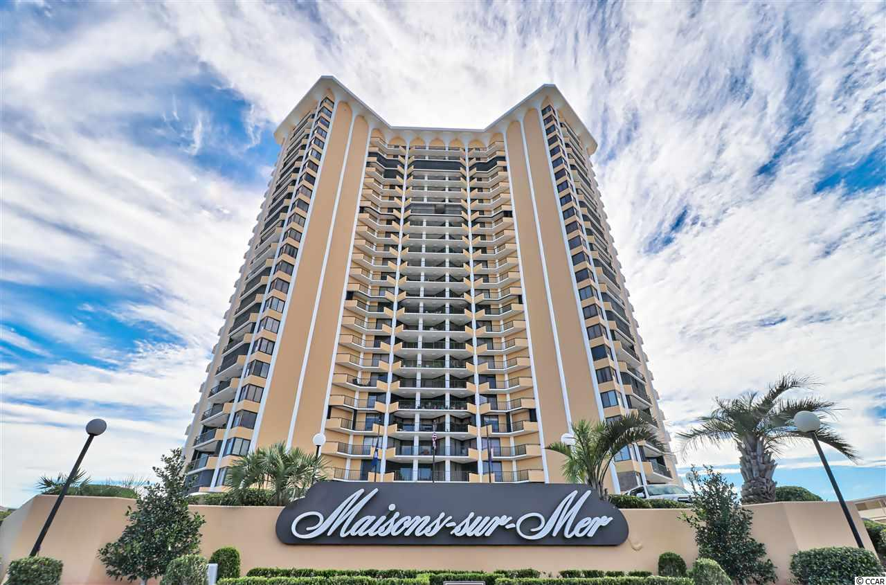 Ocean View Condo in Maisons Sur-Mer : Myrtle Beach South Carolina