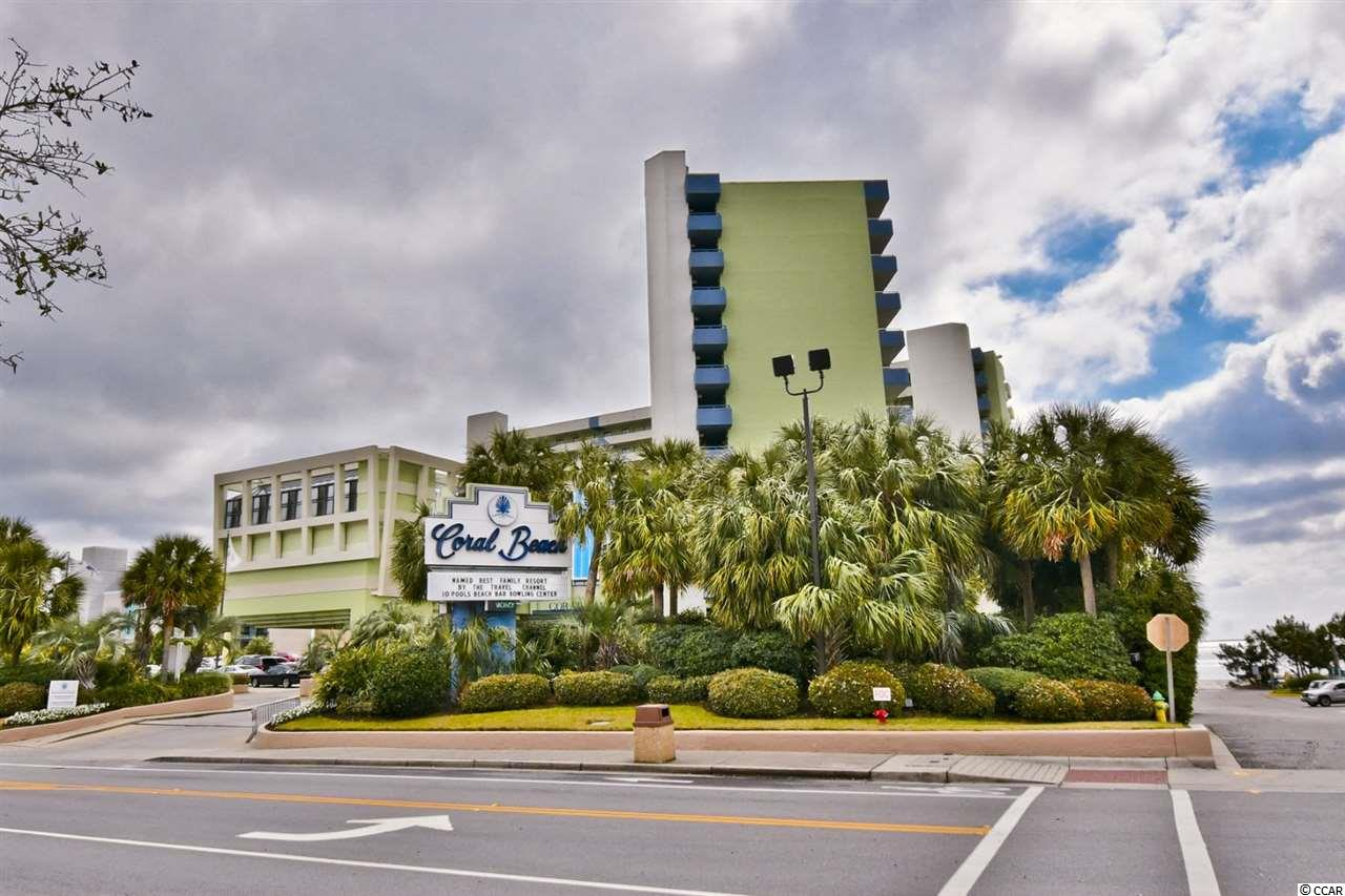 Ocean View Condo in Coral Beach : Myrtle Beach South Carolina