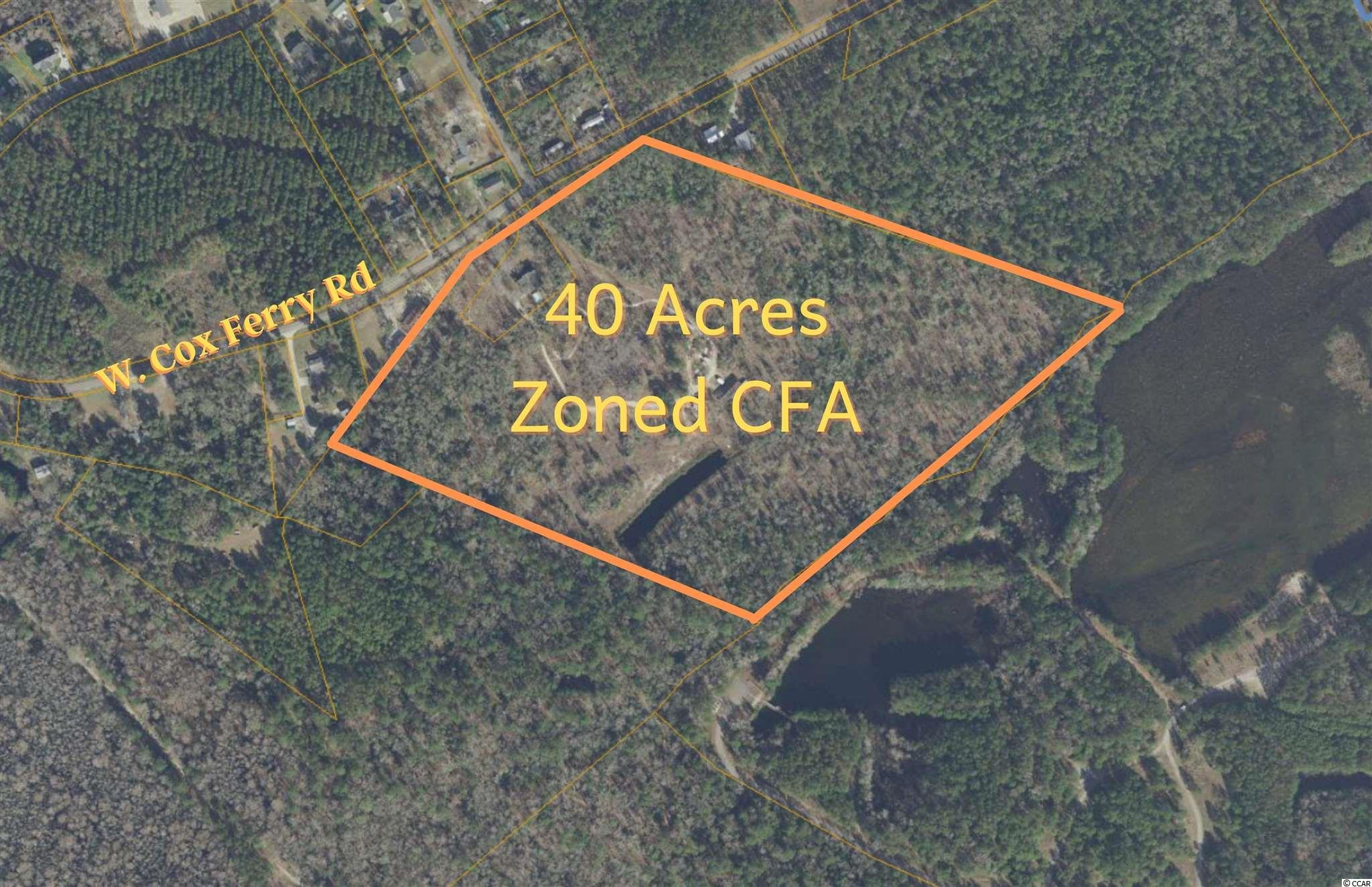 TBD West Cox Ferry Rd. Conway, SC 29526