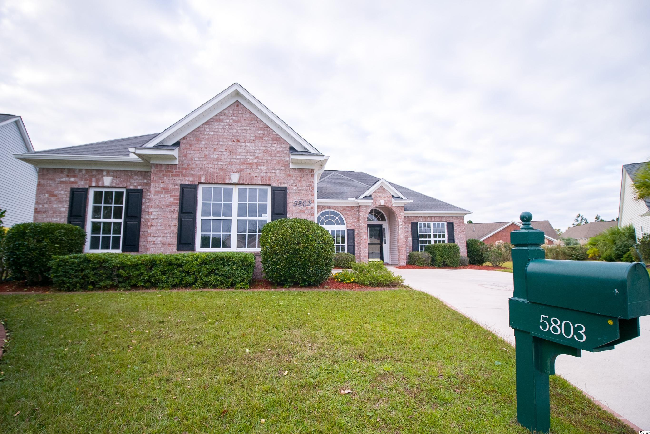 5803 Mossy Oaks Dr. North Myrtle Beach, SC 29582