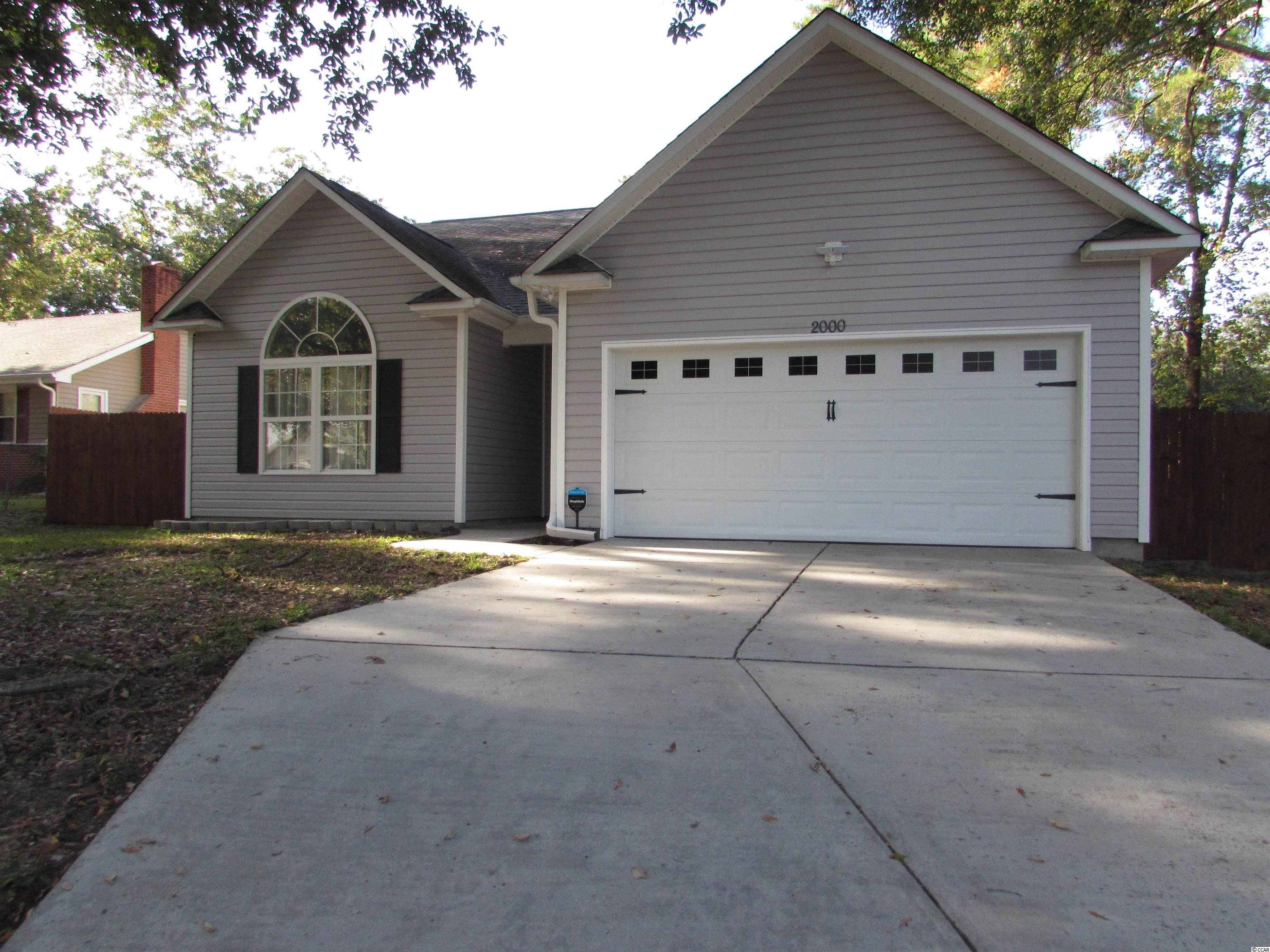2000 Woodward Dr. Conway, SC 29527