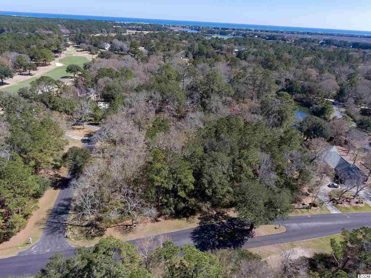 Golf Community - This is a must see DeBordieu Colony property and priced to sell quickly! Located on a quiet cul de sac within the DeBordieu Colony golf community, this homesite features beautiful mature oak trees, a large building envelope and lake frontage. This property is not in a flood zone and will offer a backyard southern exposure perfect for a pool or garden.   DeBordieu Colony is a private gated coastal community. Property owners and club members enjoy a private golf course, tennis club, oceanfront beachfront club with fine and casual dining,  a beautiful beach, and a community boat ramp with convenient access to the pristine North Inlet estuary. DeBordieu Colony is located between Pawleys Island and Georgetown, South Carolina.