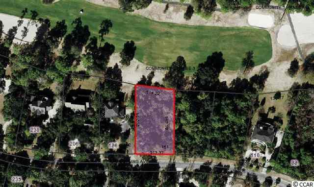 Golf Community - Gorgeous wooded homesite overlooking 11th hole of DeBordieu's award winning golf course. Located on one of DeBordieu's quietest and most desirable streets. Enjoy all the amenities of DeBordieu- private beach access and Beach Club, private access to creeks of North Inlet, private golf and tennis. A true nature lover's paradise.