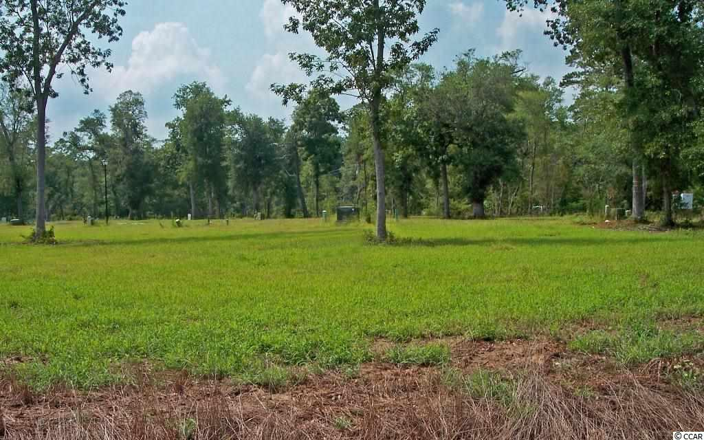 Delightful nearly new neighborhood of 23 lots within walking/biking distance to Pawleys Island. Water and sewer in place. Street lights. Architectural controls in place for raised beach style houses in low-country design with metal roofs and parking beneath houses. Minimum 1,600 heated square feet. Pools o.k.  Not a condo development. Build when you wish. This lot is on the edge of the neighborhood with large, custom built, single family homes close by. Banks will finance house/lot packages. Neighborhood has sold out.  Homes and lots are resales now.