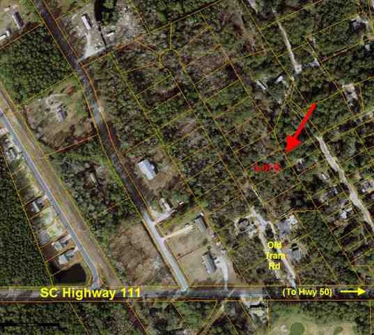 This nice wooded lot is only a few minutes from the Intracoastal Waterway, the Waccamaw River, Little River Inlet, and North Myrtle Beach. There are no HOA fees and only a few reasonable restrictions in place to include requirement that the home be stick built. Buyer will have to pay tap fees for water. Lot has perked in the past - buyer will have to verify. Sewer is at road and can be extended by buyer if desired.