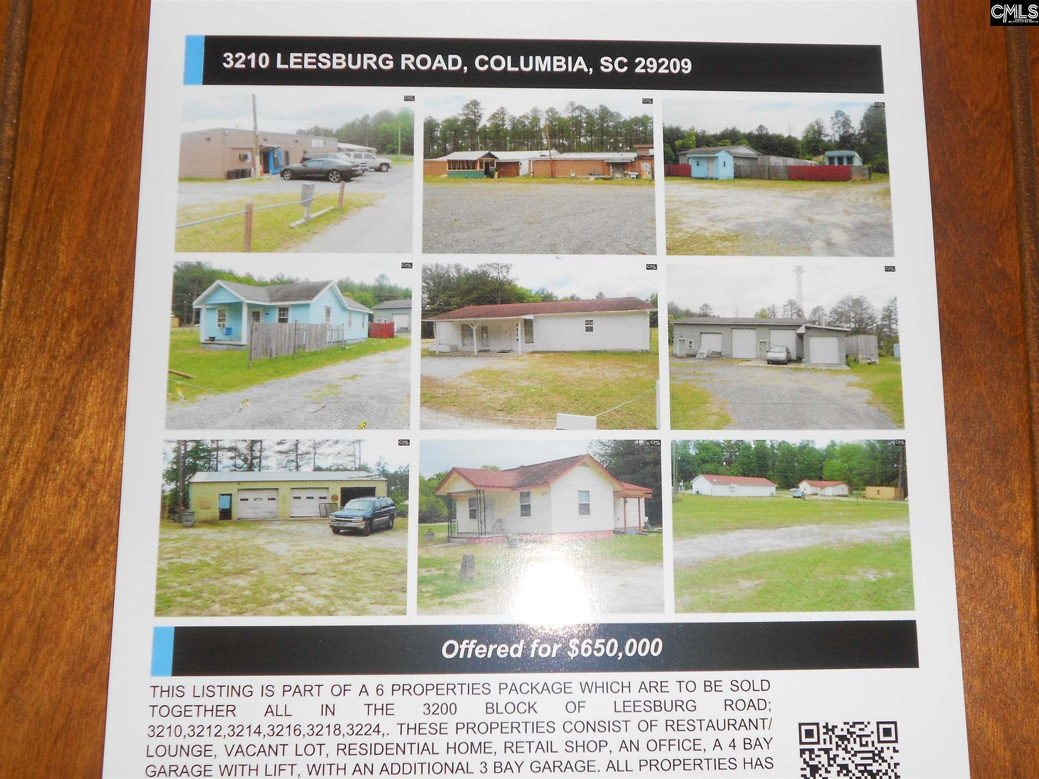 3210  Leesburg Columbia, SC 29209