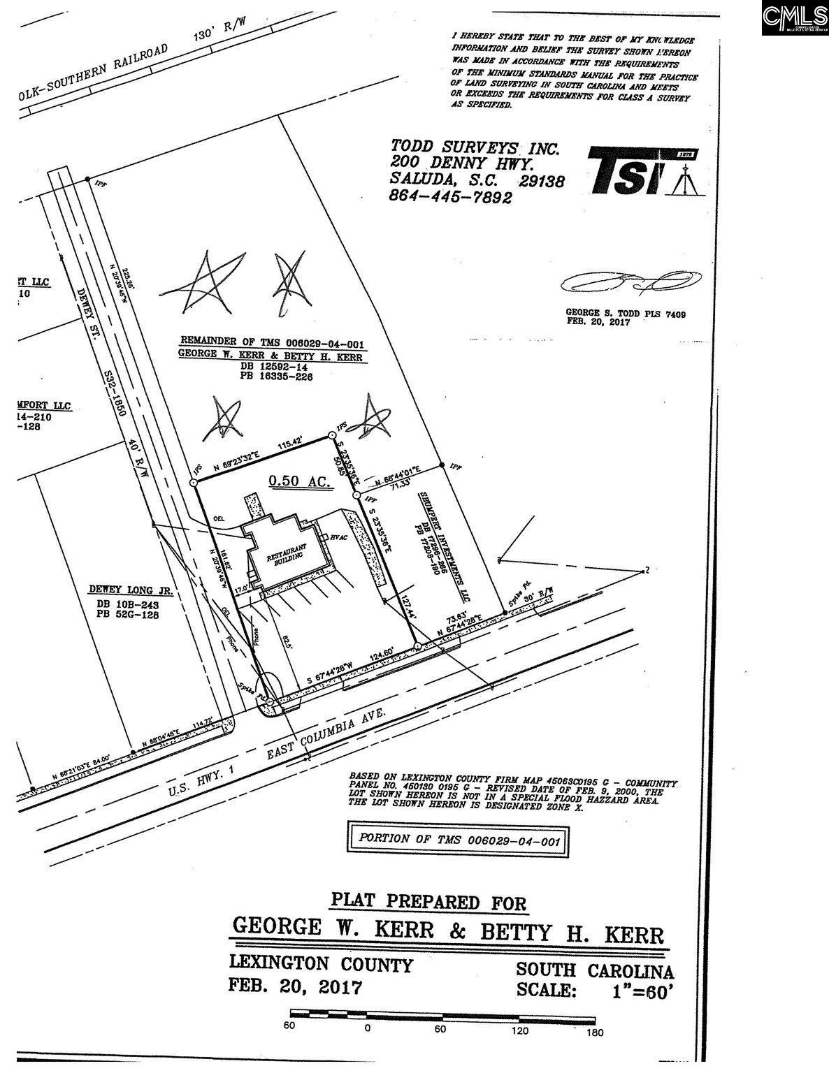 Dewey (s32-1850) #lot A Leesville, SC 29070