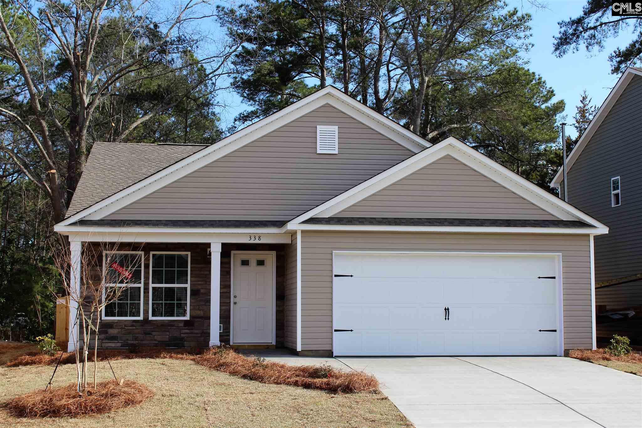338  Fairford Blythewood, SC 29016