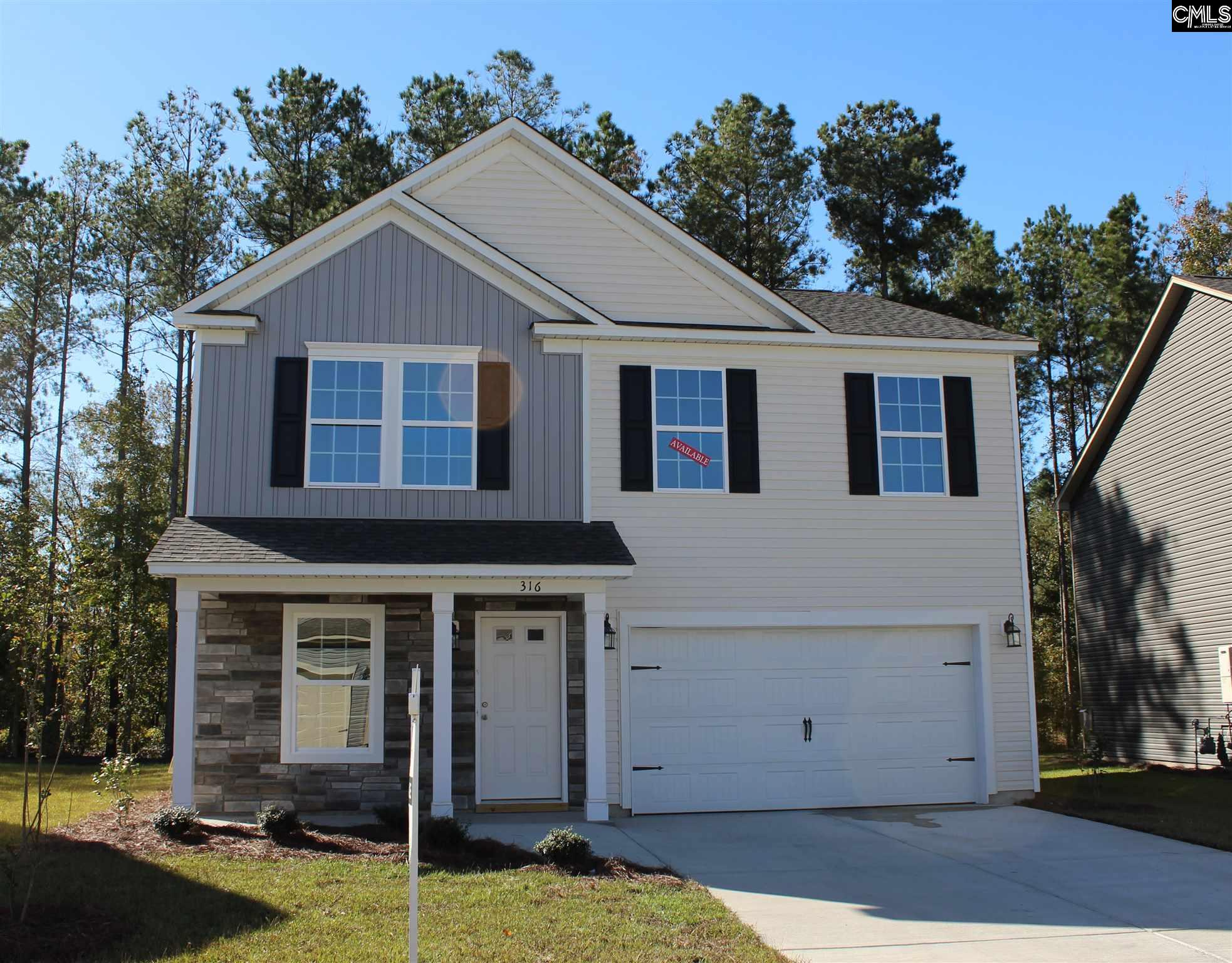 316  Fairford #lot 36 Blythewood, SC 29016