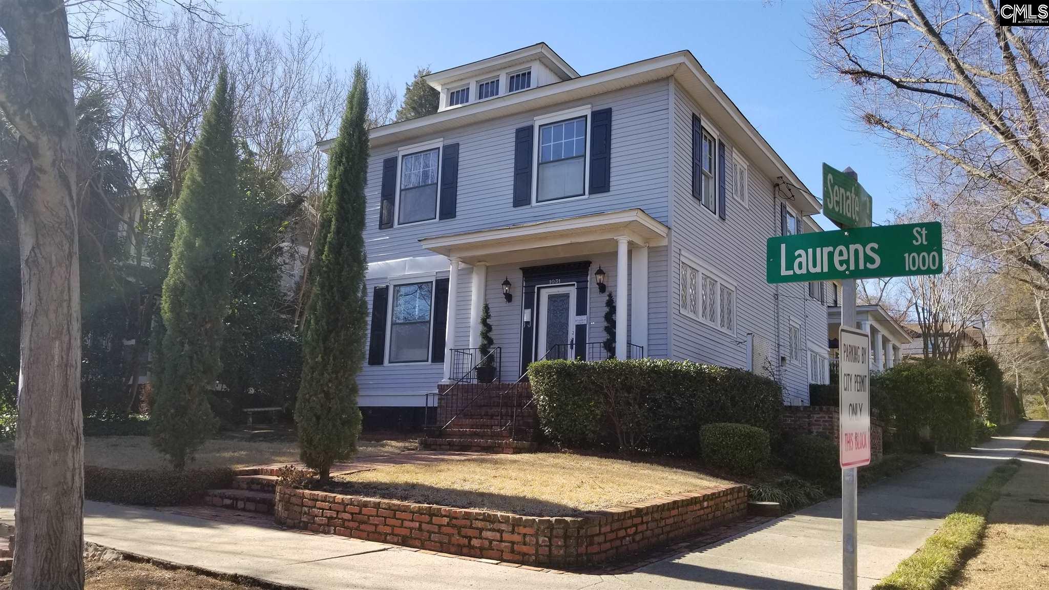 1031 Laurens Columbia, SC 29201