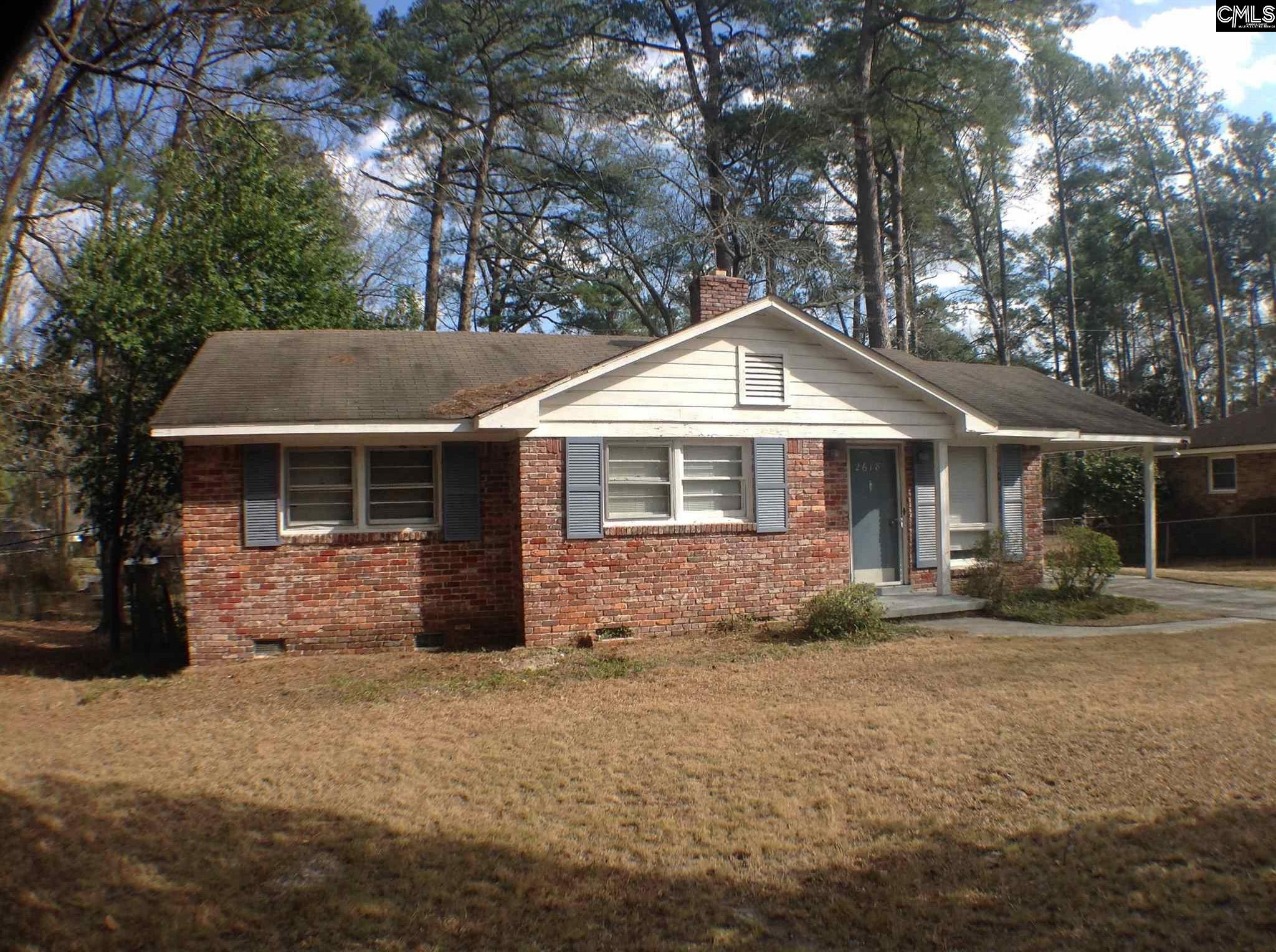 2618  Parkwood Drive Columbia, SC 29204