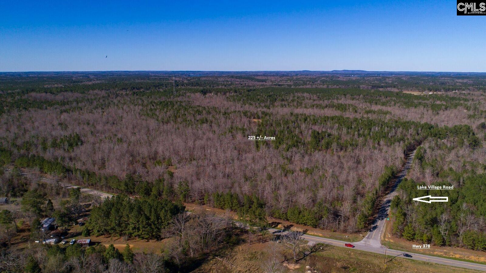 225 Acres of timberland.  Adjoins a 26 acre tract with 1400 + feet on Lake Murray.  Beautiful property with a mix of Pines and Hardwoods.  Would make an excellent recreation property.  Deer and Turkey rights currently being leased.  Water and sewer lines on Lake Village Drive