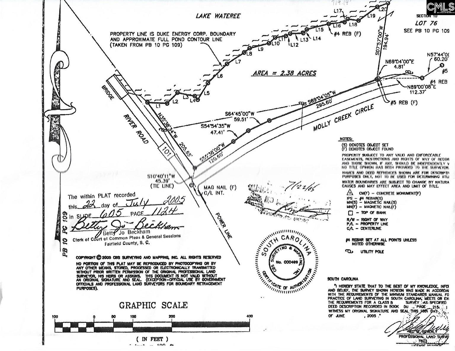 109 Molly Creek Ridgeway, SC 29130