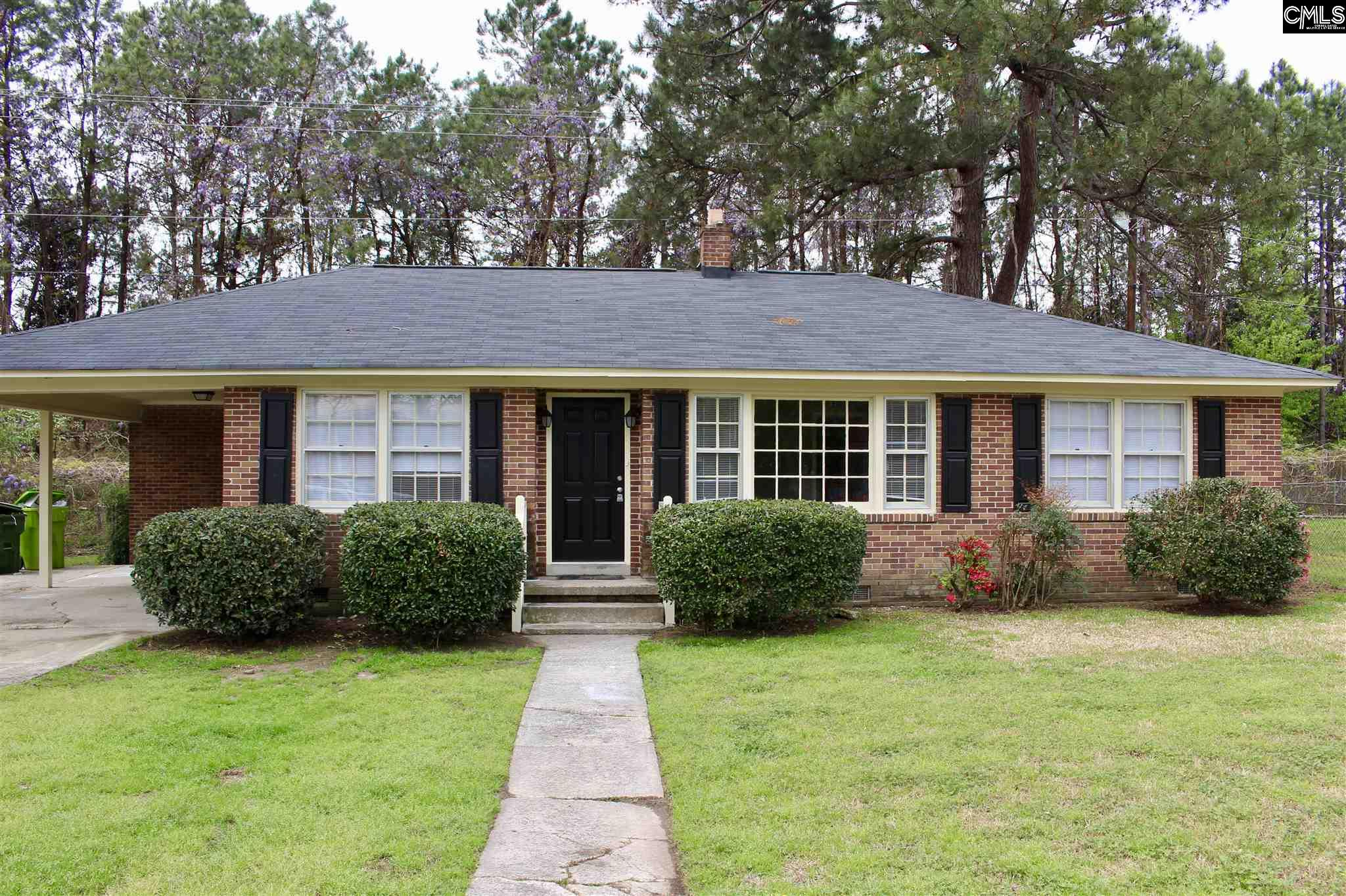 Move in ready brick ranch located in Brennan school district. Minutes from VA/ USC medical school, downtown, and Ft. Jackson. All new appliances, refinished hardwoods, updated kitchen and bathrooms. Granite countertops, termite bond & new HVAC & ducts. This home will not last for long so call and schedule your private showing today!