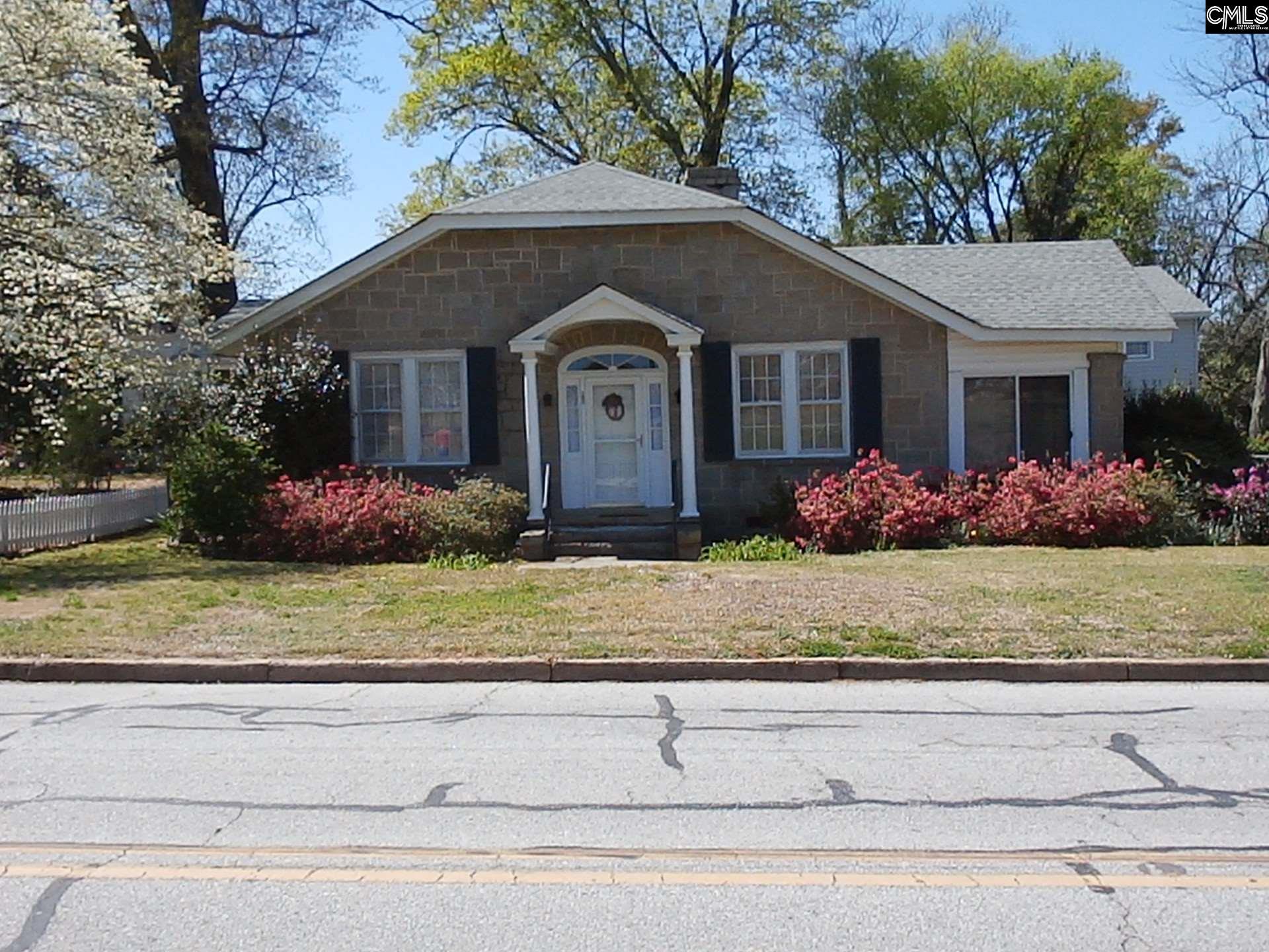205 N Zion Winnsboro, SC 29180