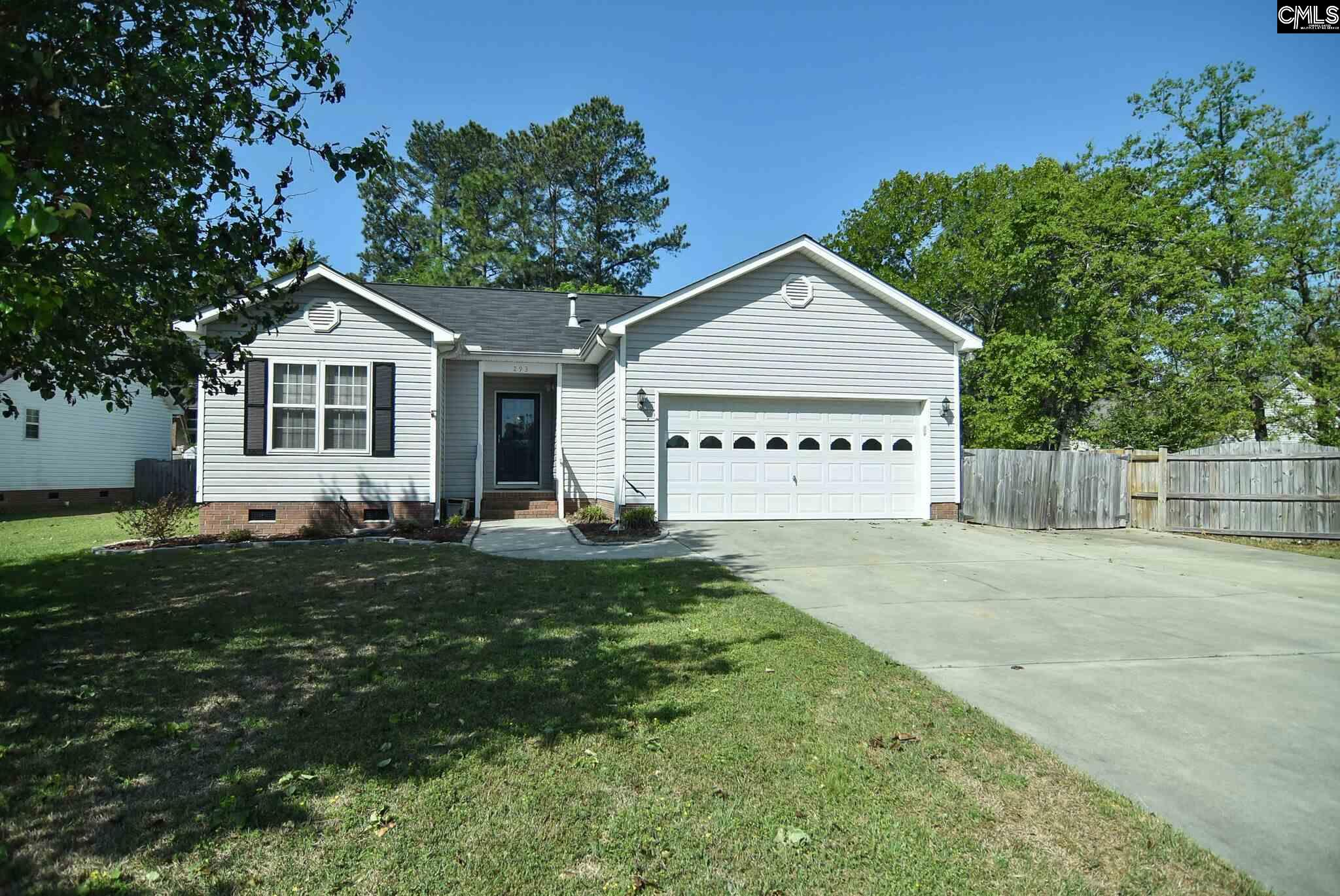 293  Colony Lakes Lexington, SC 29073