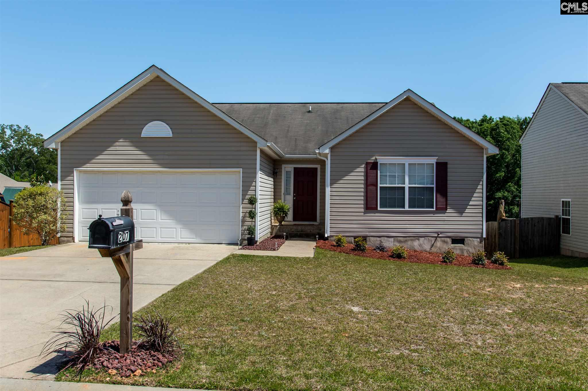 207  Cascade Lexington, SC 29072-6861