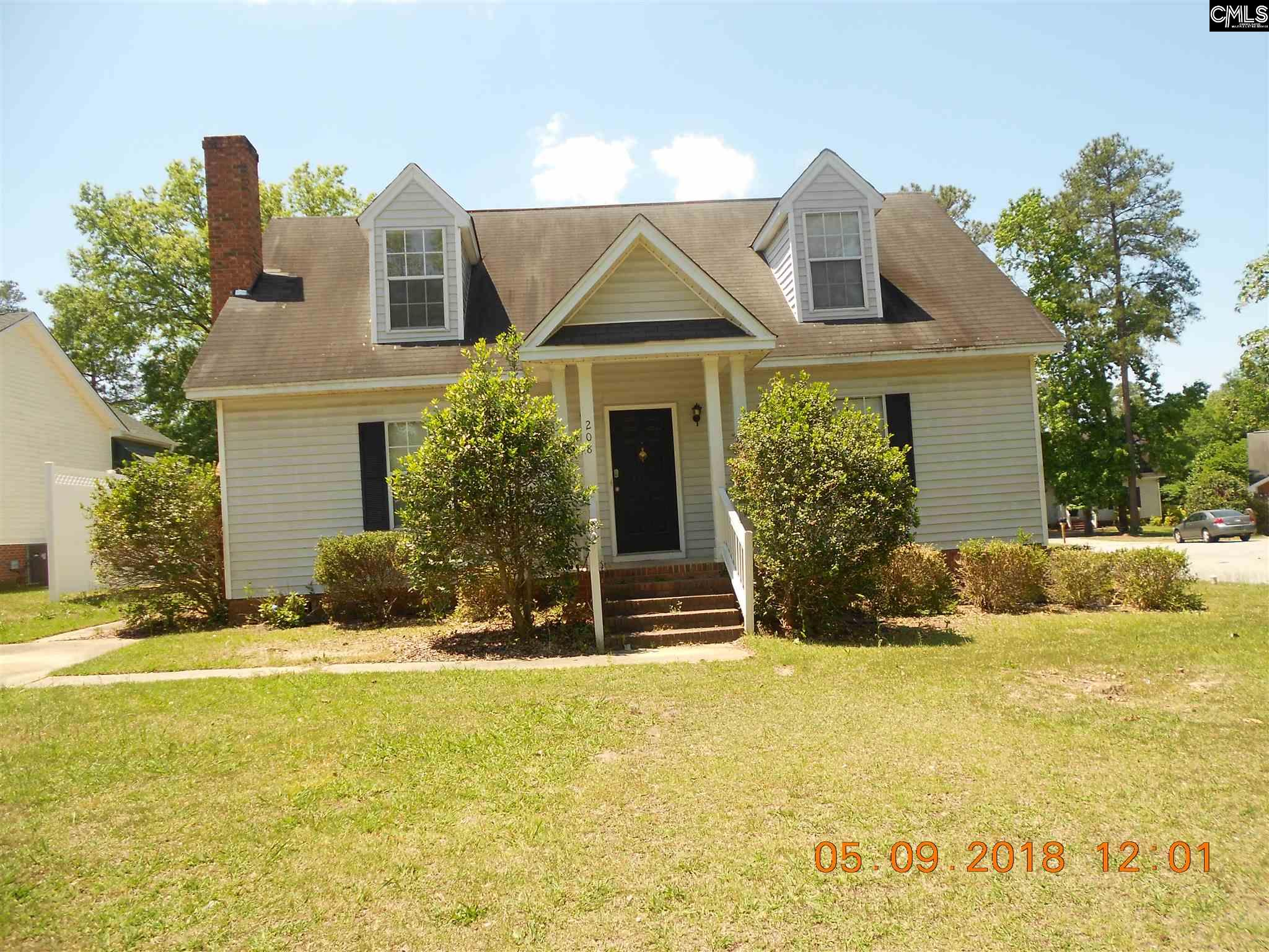 208  Forest Grove Columbia, SC 29210