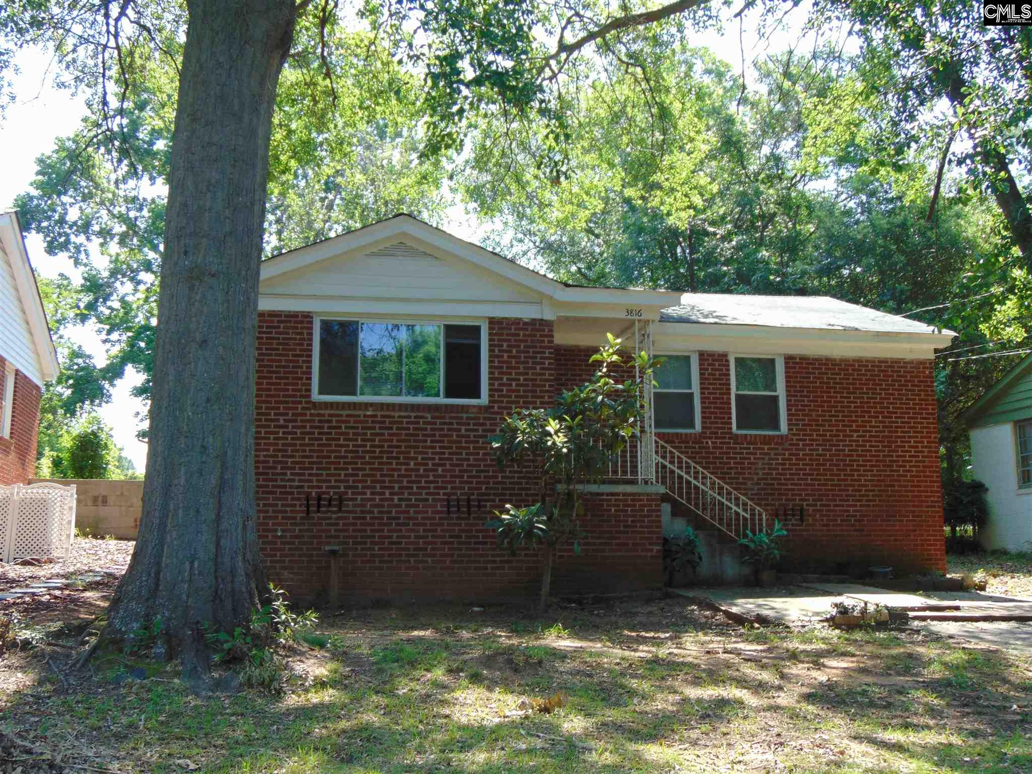 3816 Wellesley Columbia, SC 29203