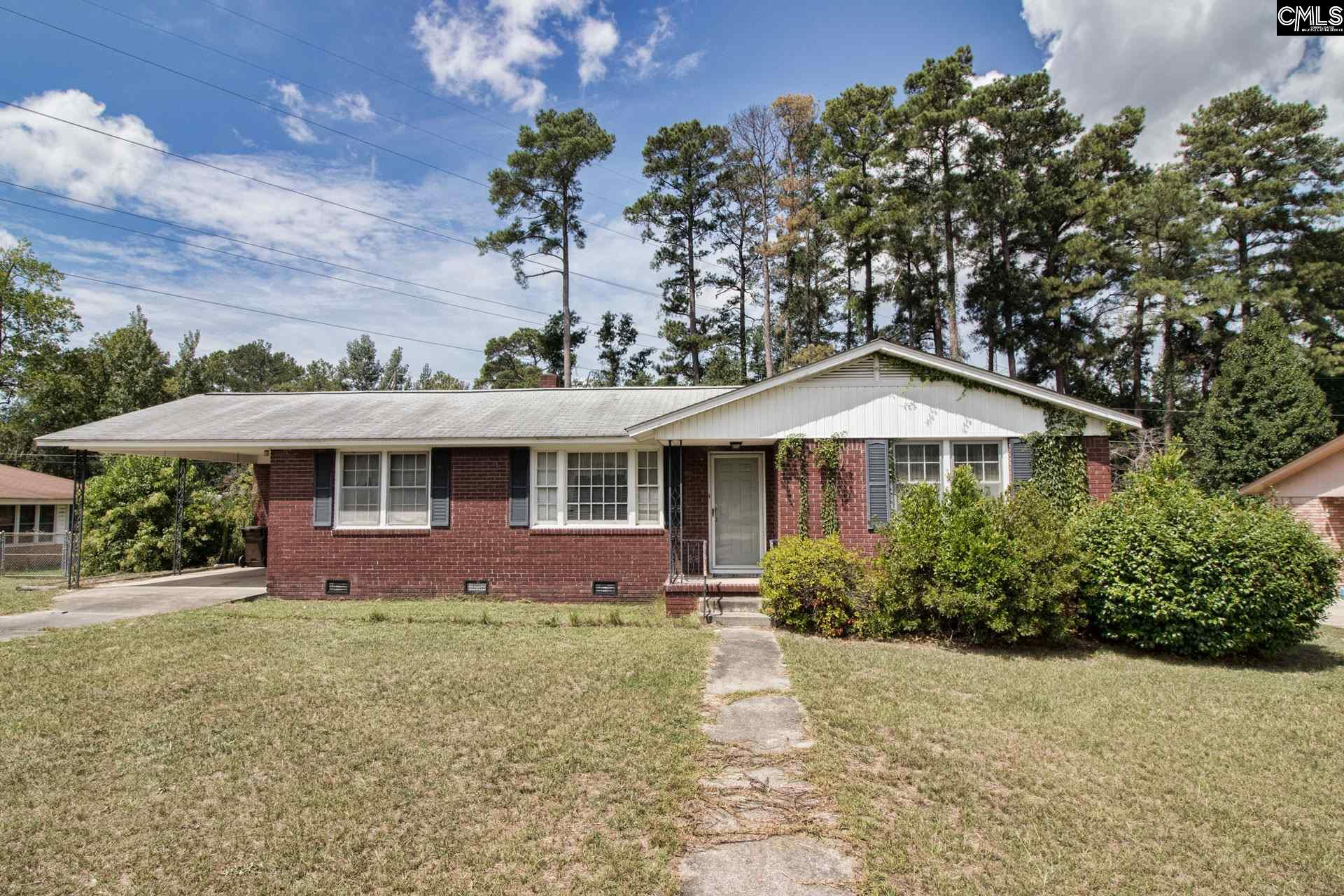 2330 Mary West Columbia, SC 29169